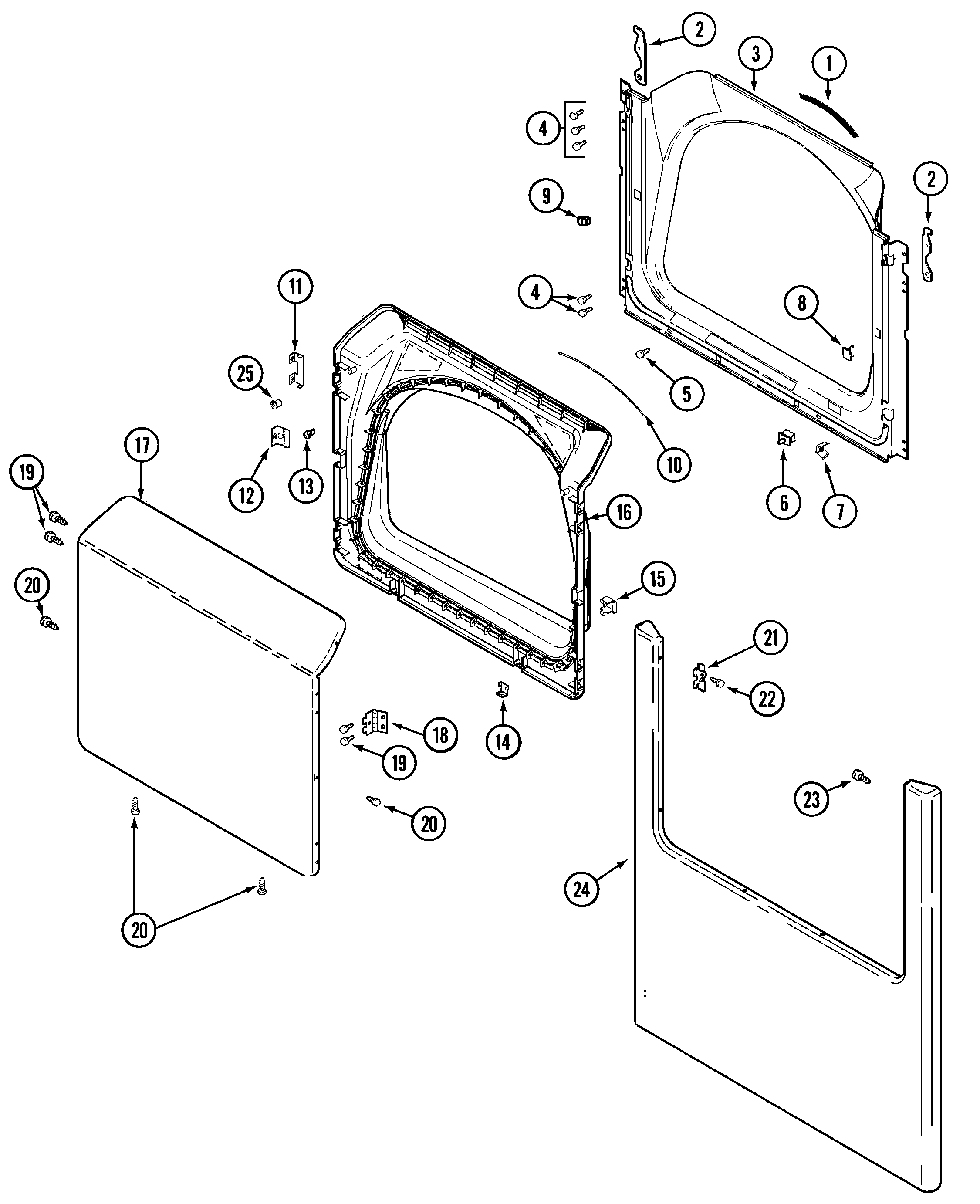 Maytag Model Mde6200ayw Residential Dryer Genuine Parts Belt Replacement Diagram