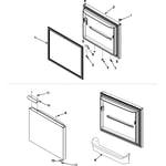 Amana AB1924PEKW freezer door diagram