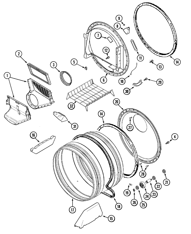 Maytag  Electric/Gas Dryer  Tumbler
