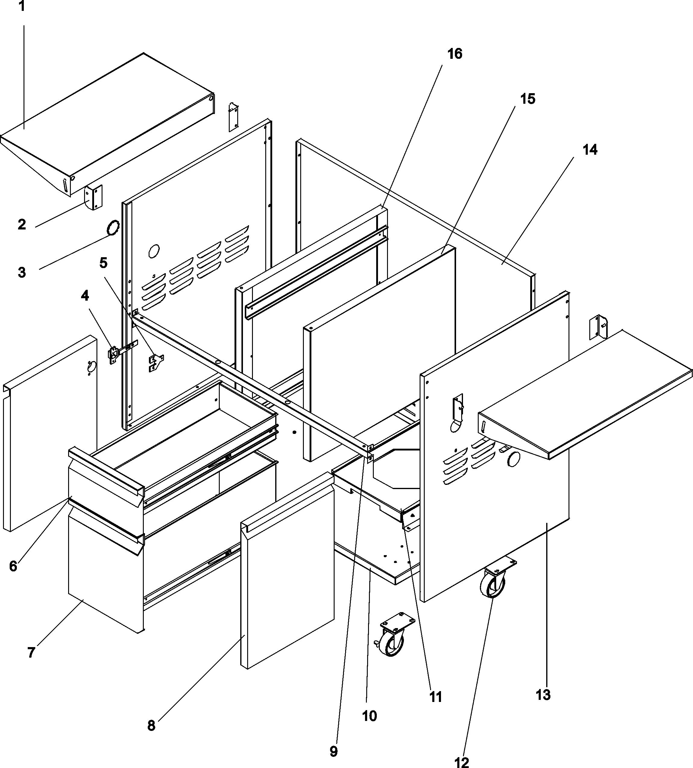 Maytag  Dynasty Bbq  Dobb-4203a base
