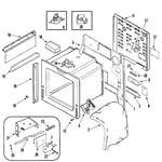 Jenn-Air JES9750BAS body diagram
