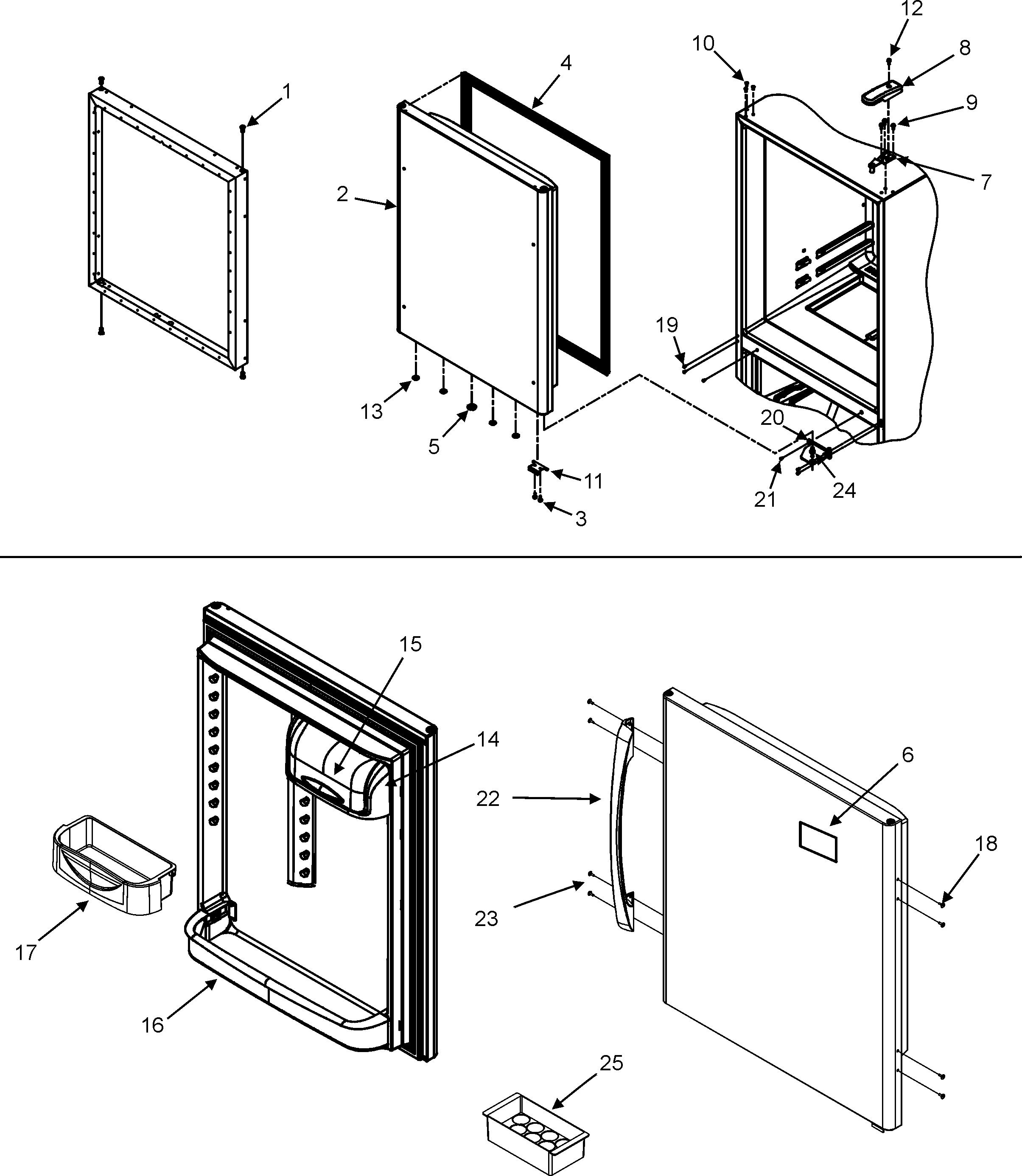 Maytag  Maytag Refrigeration  Refrigerator door