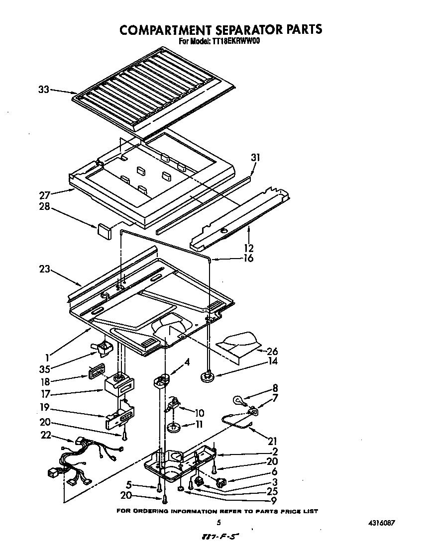 Estate  Refrigerators   Parts