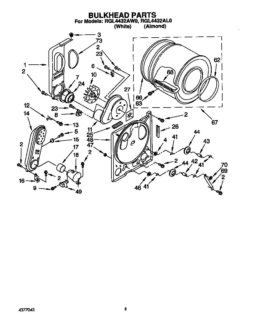 Roper  Residential Dryer