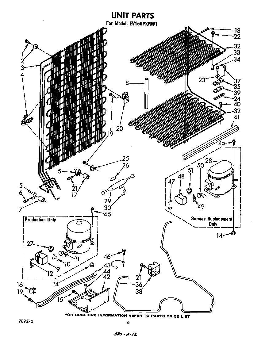 Whirlpool  Upright Freezer  Unit