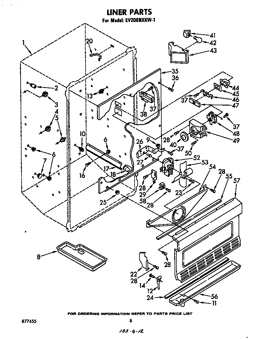 Whirlpool  Freezer  Liner