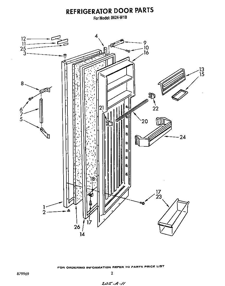 Roper  Refrigerators  Refrigerator door