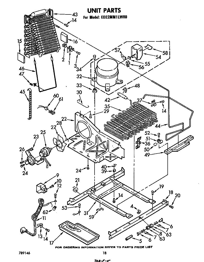 Whirlpool  Refrigerator  Unit
