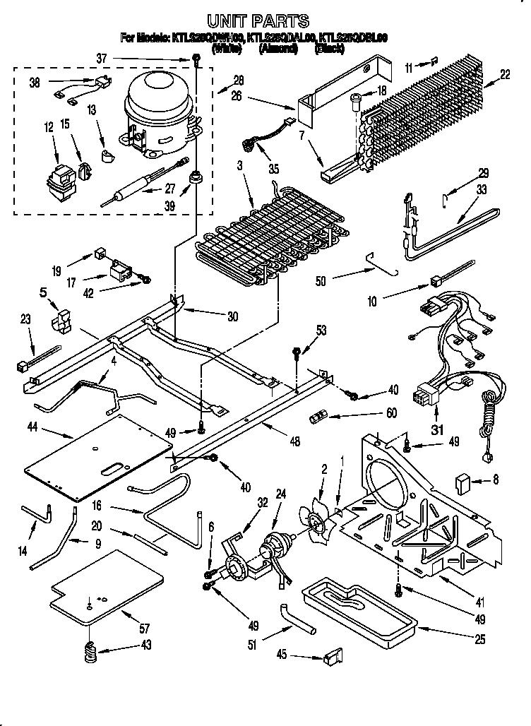 Kitchenaid  Top-Mount Refrigerator  Unit