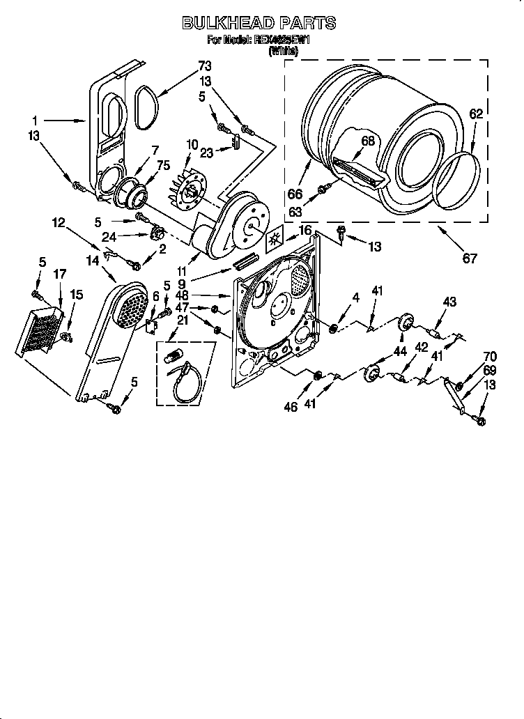 Roper Dryer Wiring Diagram