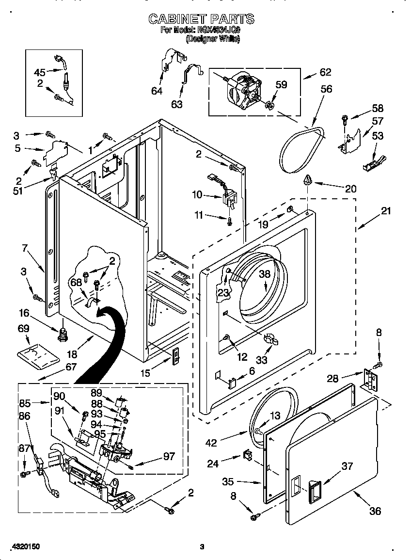 Roper  Dryer  Cabinet