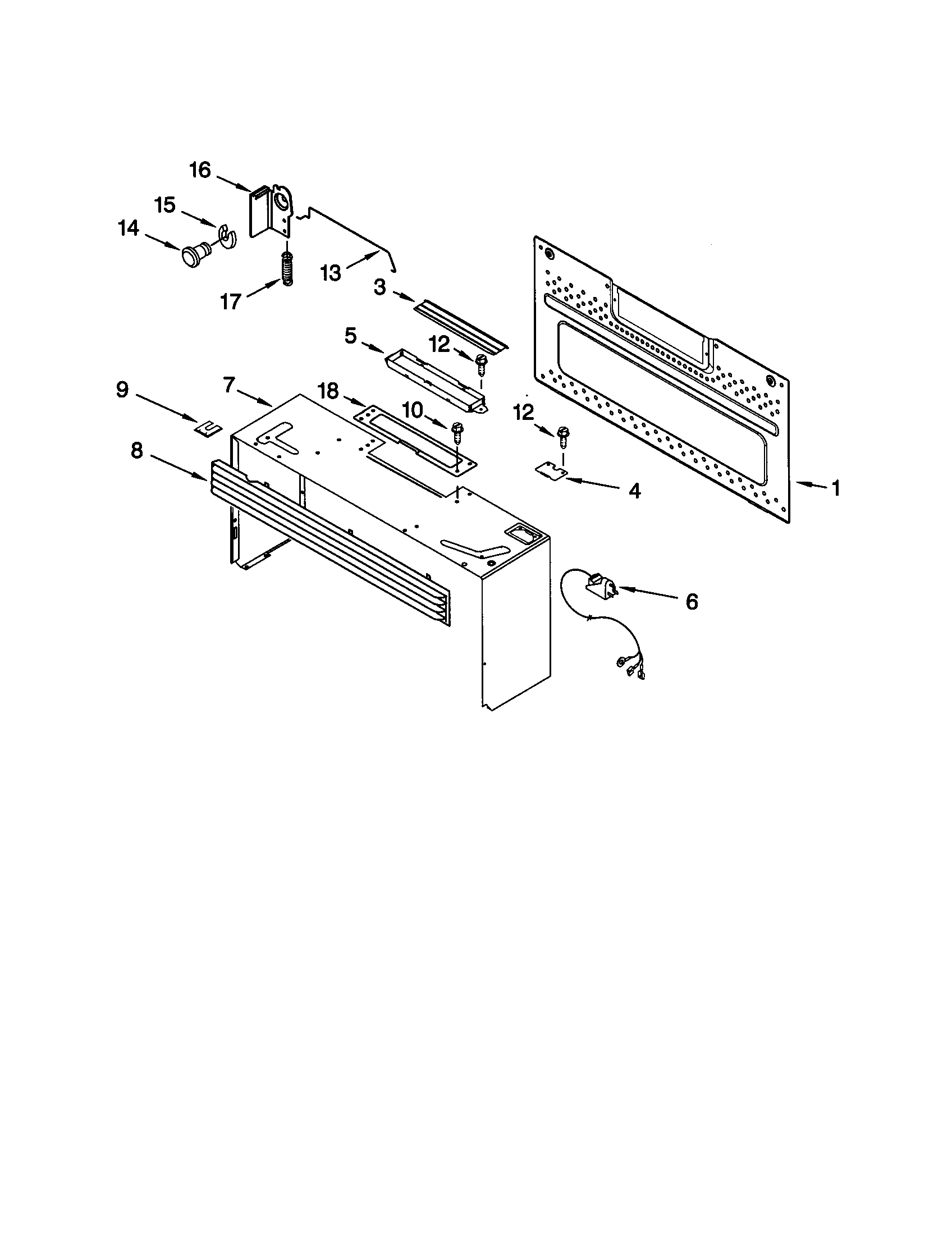 Kenmore 66569649990 cabinet and installation diagram