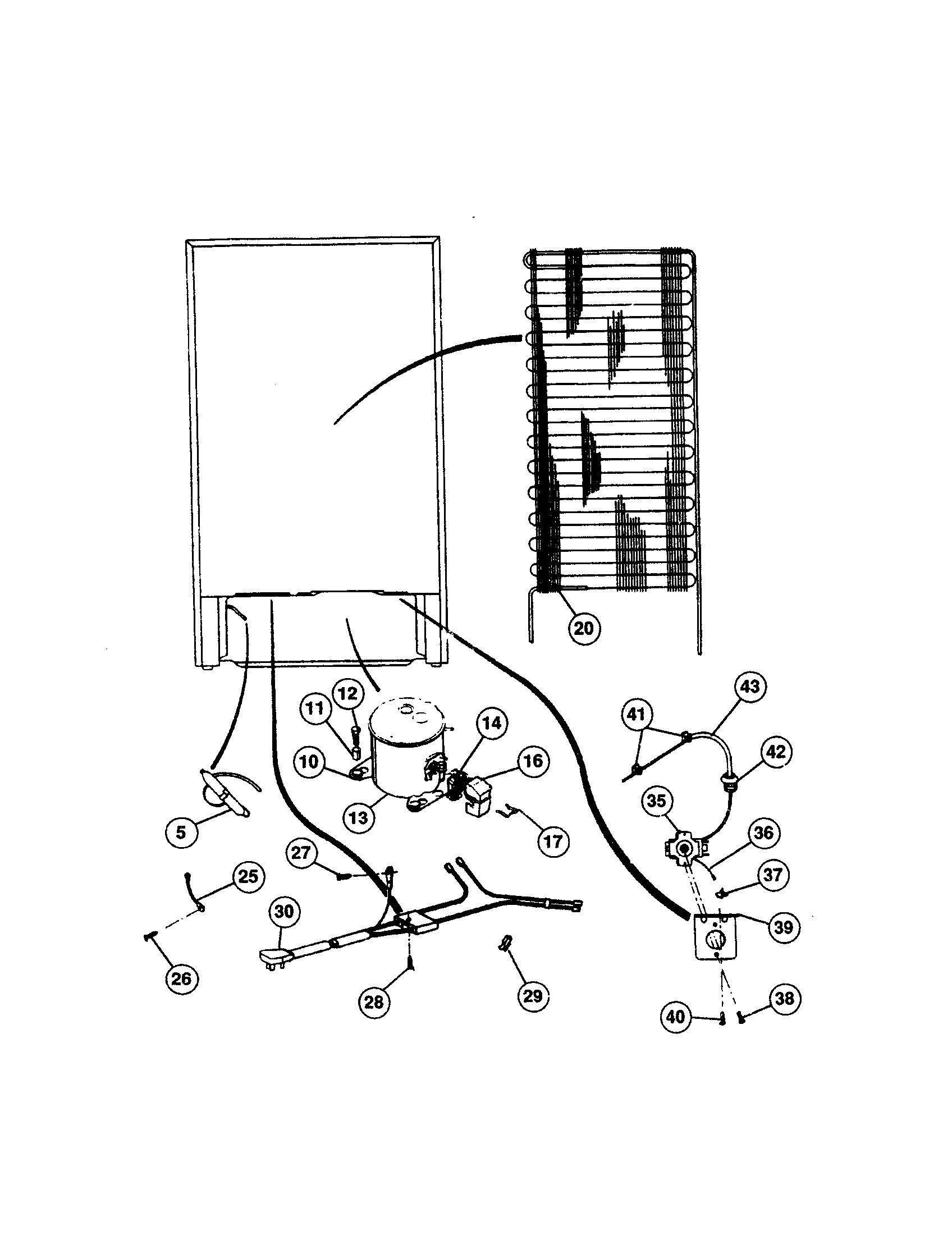 Edina  Beverage Cooler  Compressor