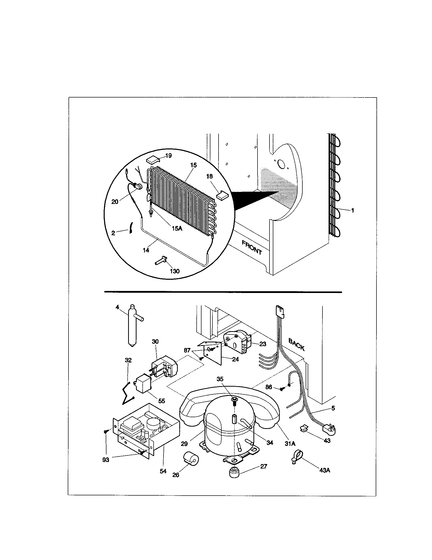 Kenmore 25321041100 system diagram