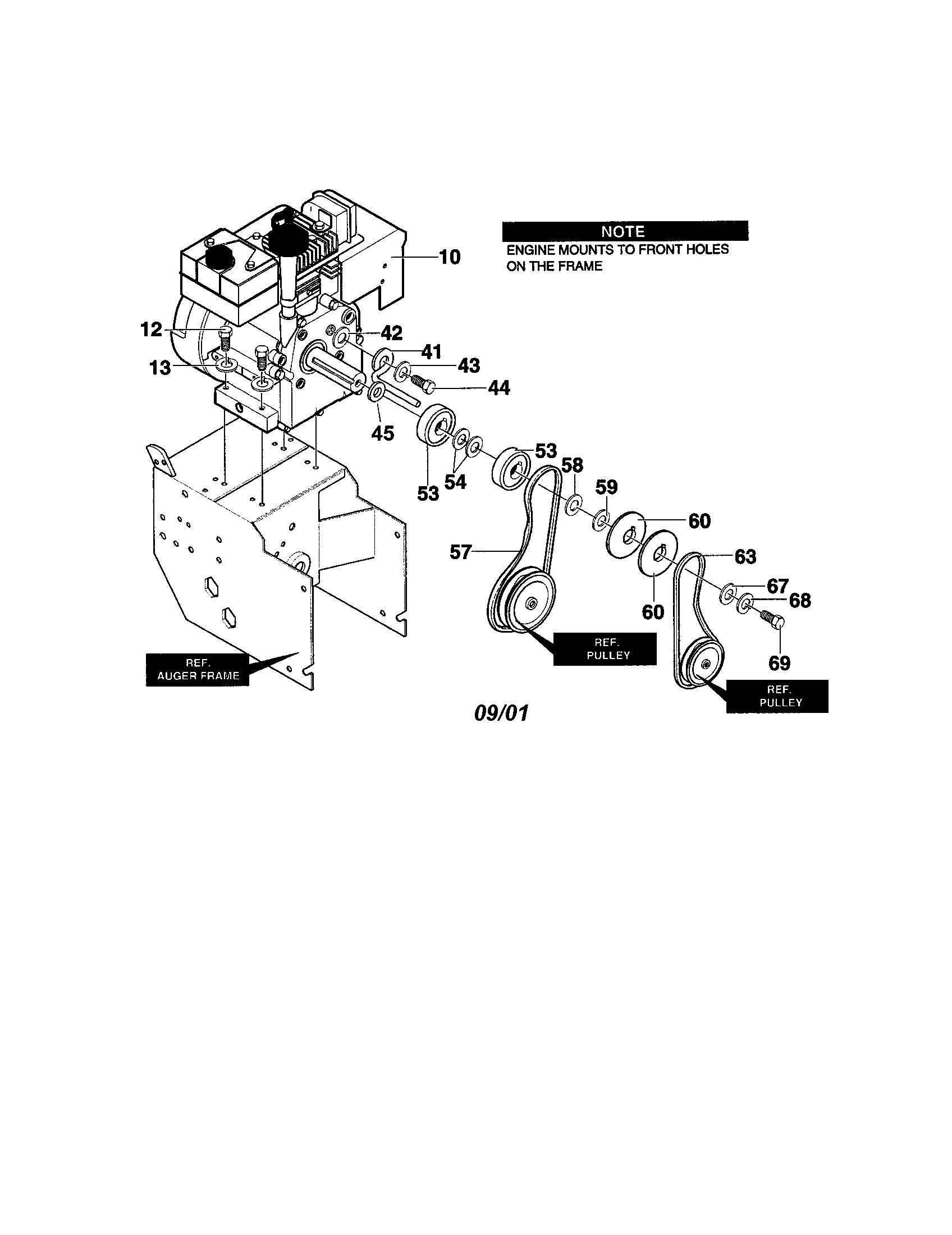 Craftsman Model 536886480 Snowthrower Gas Genuine Parts Hp Tecumseh Engine Diagrams Car Tuning