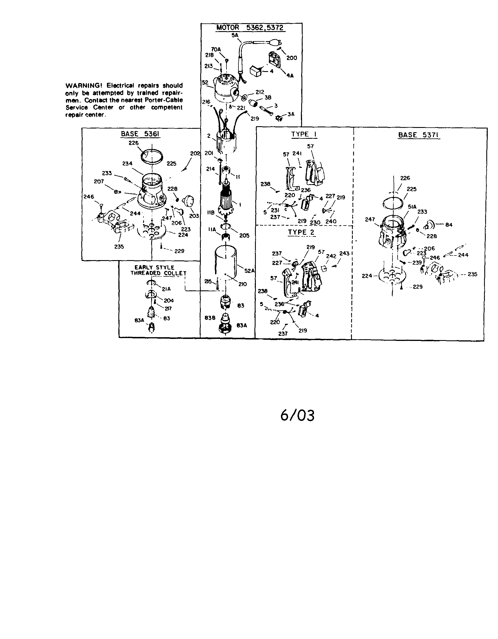 rockwell router model 5141 wiring diagram router