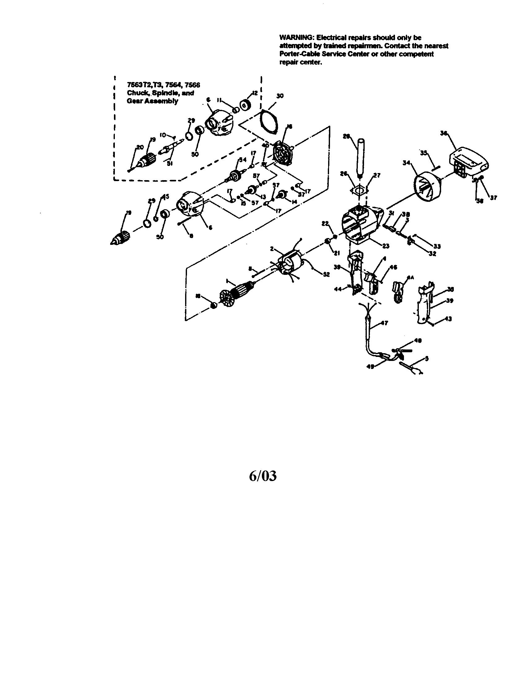 Porter Cable  Drill  Drill