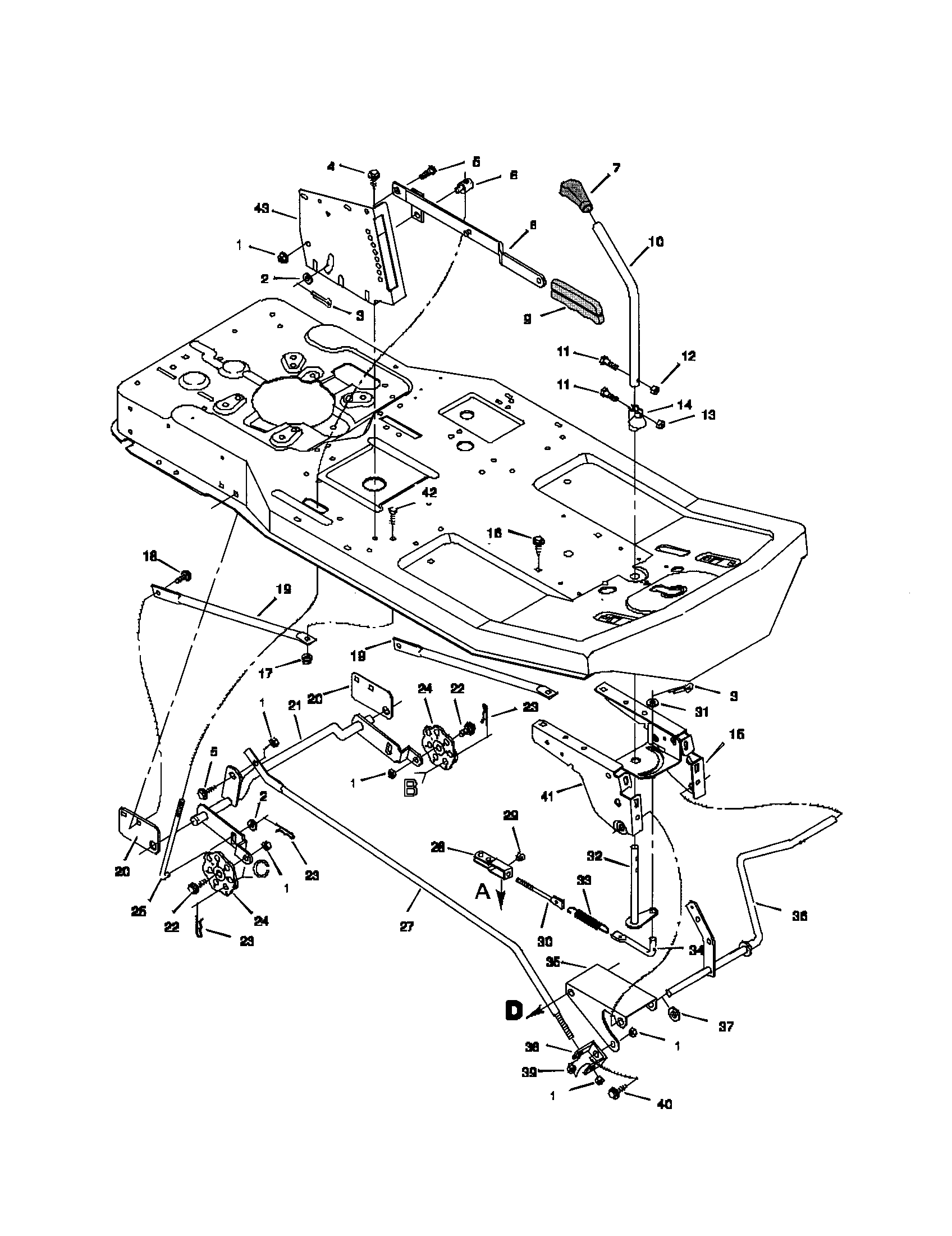 Snapper Riding Lawn Mower Wiring Diagram besides Wheel Horse Deck Parts Diagram together with Diagram Of A Lawn Mower Engine as well Lawn Mower Wiring Schematic further Carburetor No 632078a. on murray rear engine riding mower parts