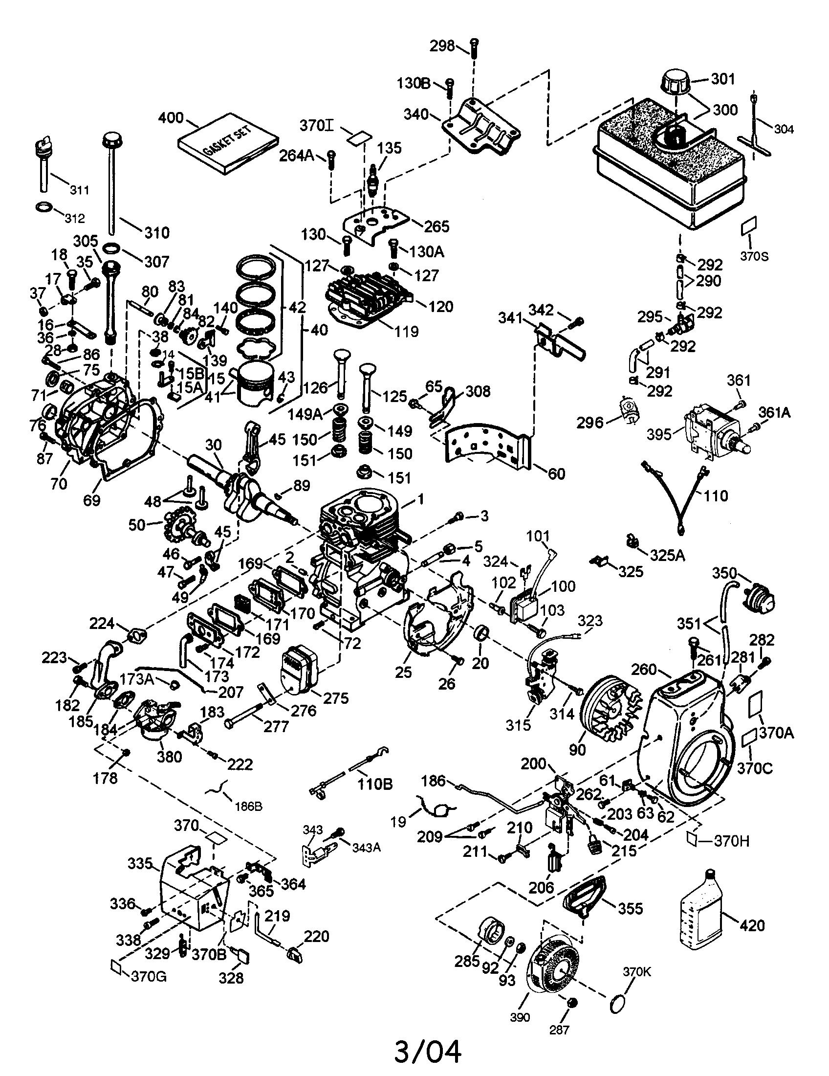 tecumseh engine parts model hmsk85155908c sears partsdirect