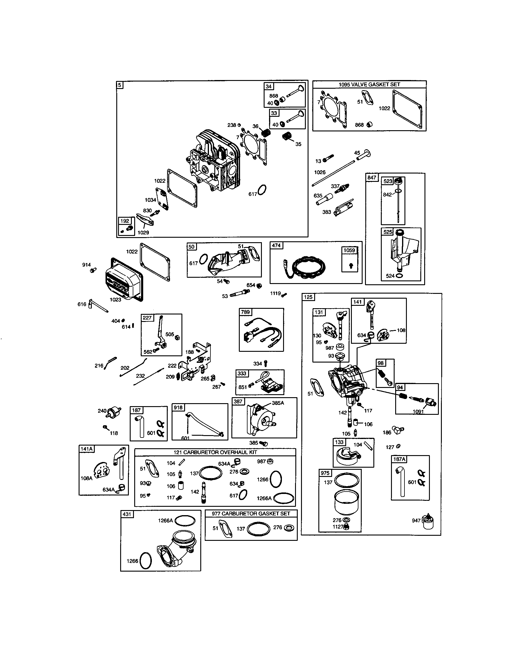 briggs stratton 19 5 hp diagram