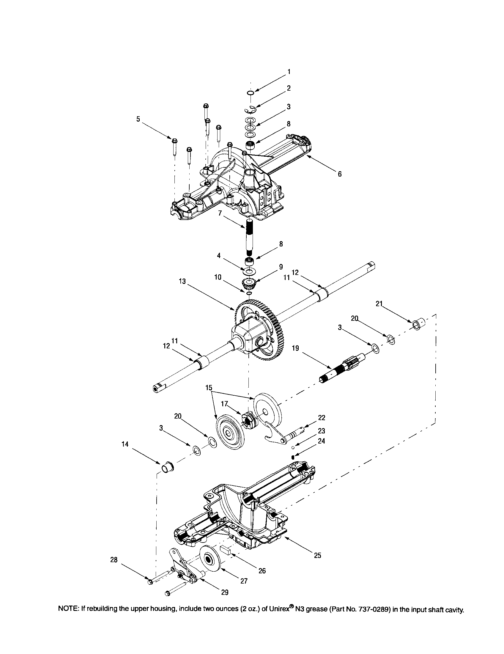Troybilt  Lawn Tractor  Differential/housing