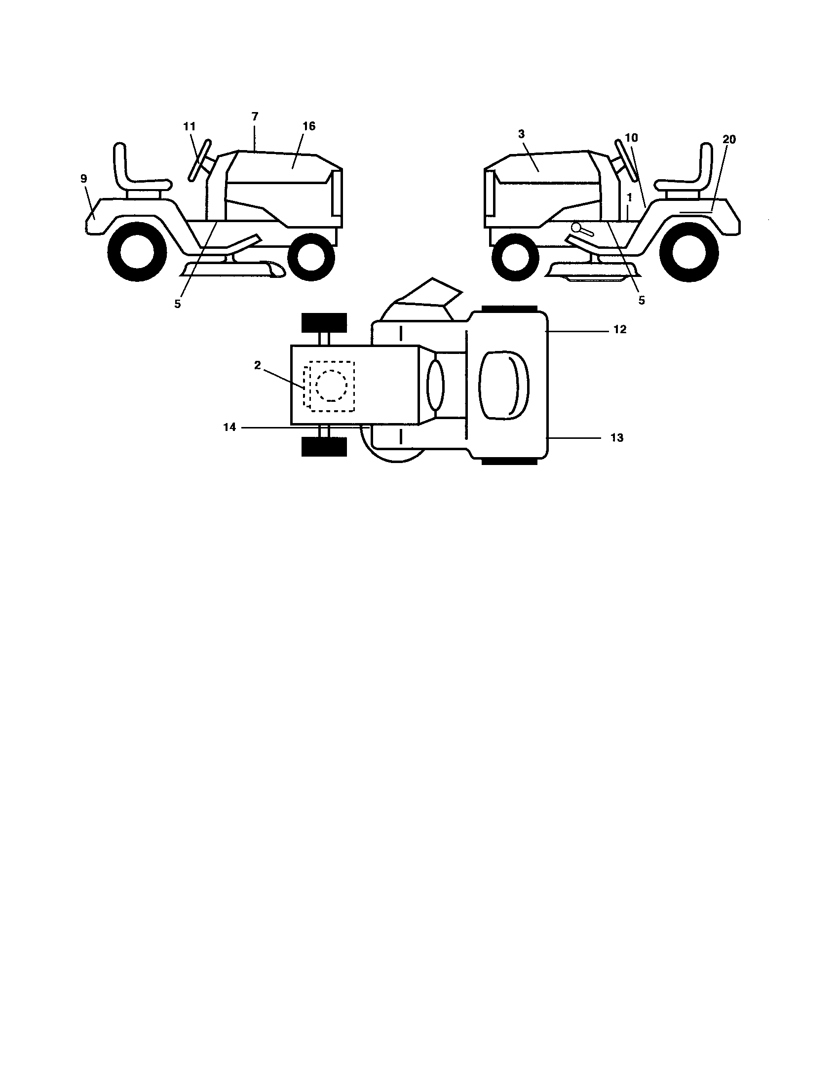 Southern States  Tractor  Decals