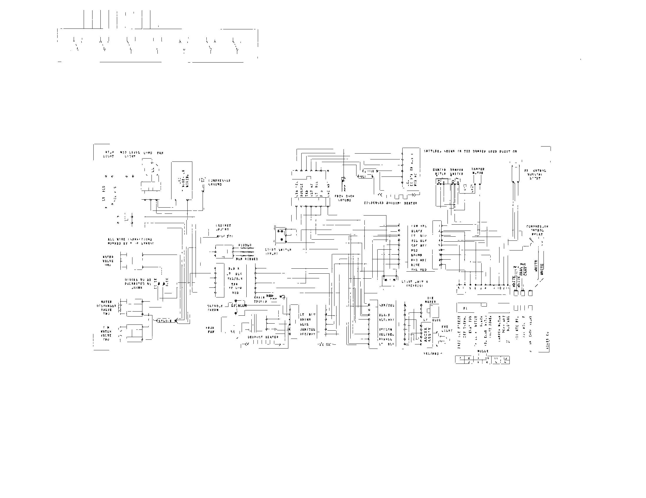 Kenmore Refrigerator Wiring Diagram - Wiring Liry Diagram A5 on