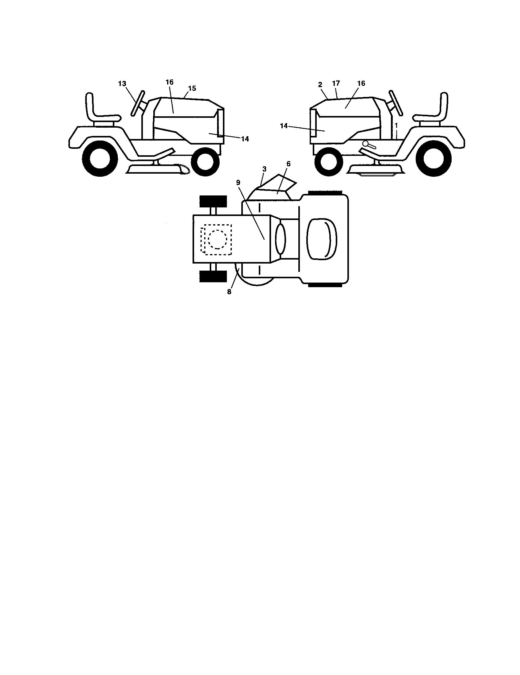Husqvarna  Tractor  Decals