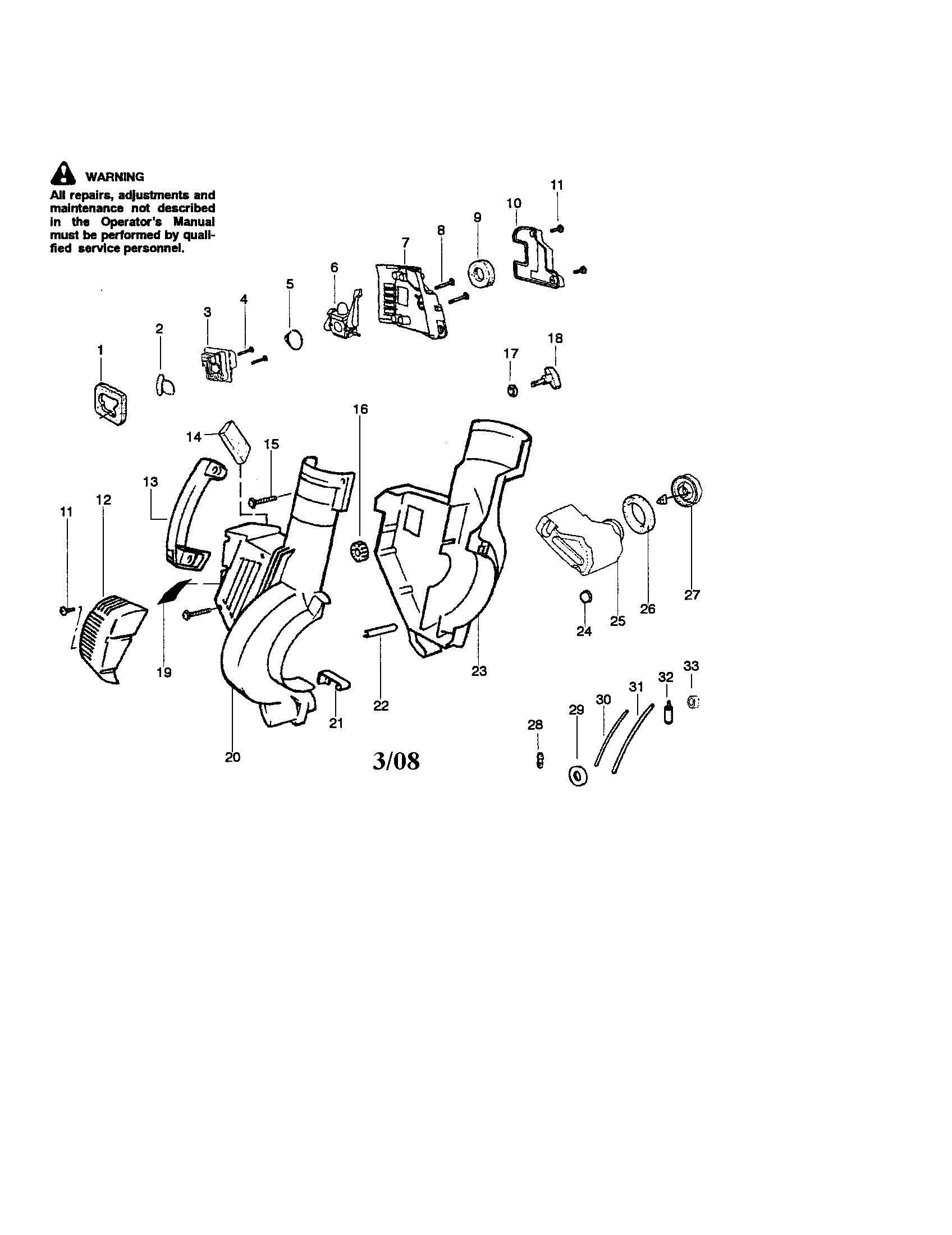 Craftsman  Blower   Parts