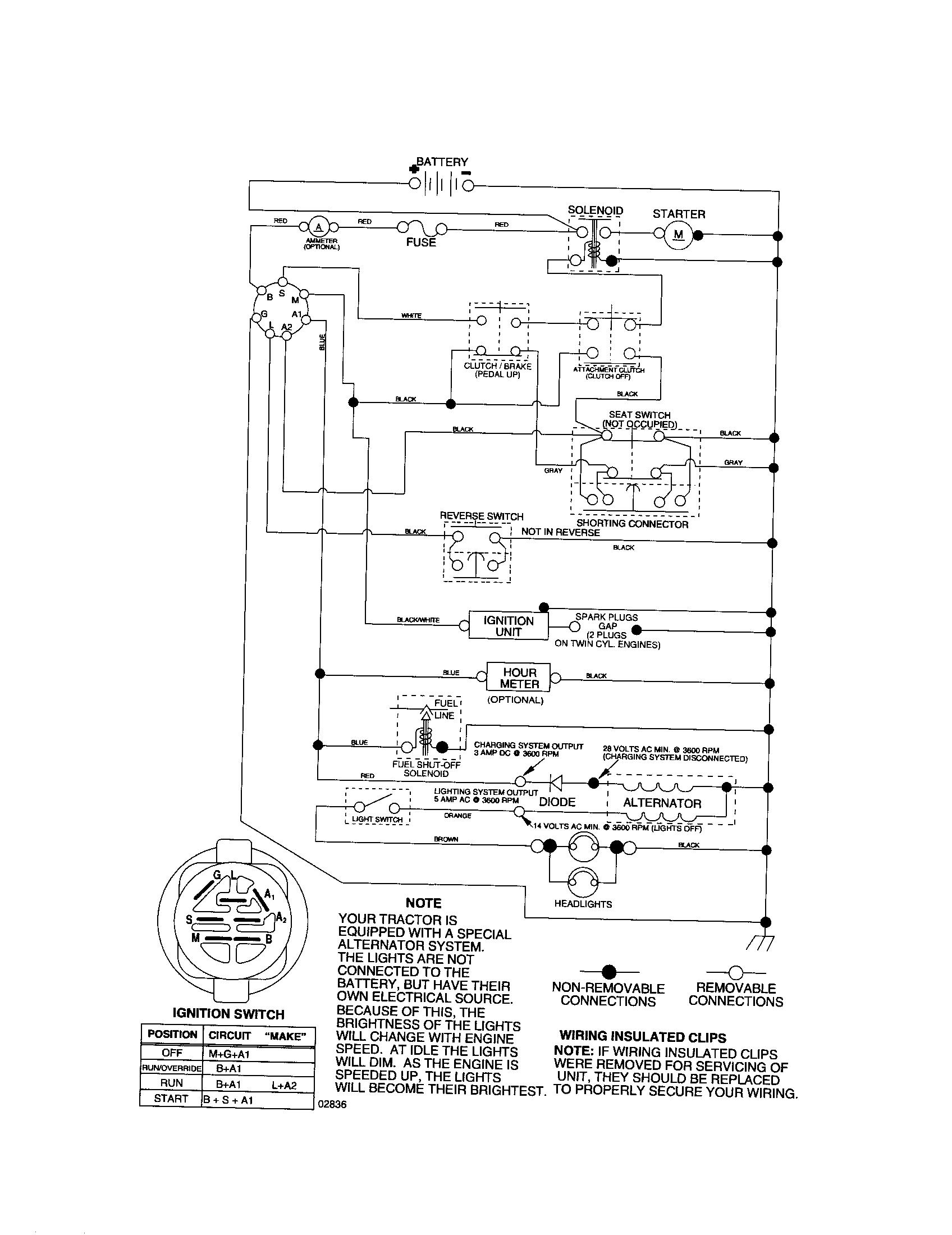 32 craftsman lt2000 wiring diagram