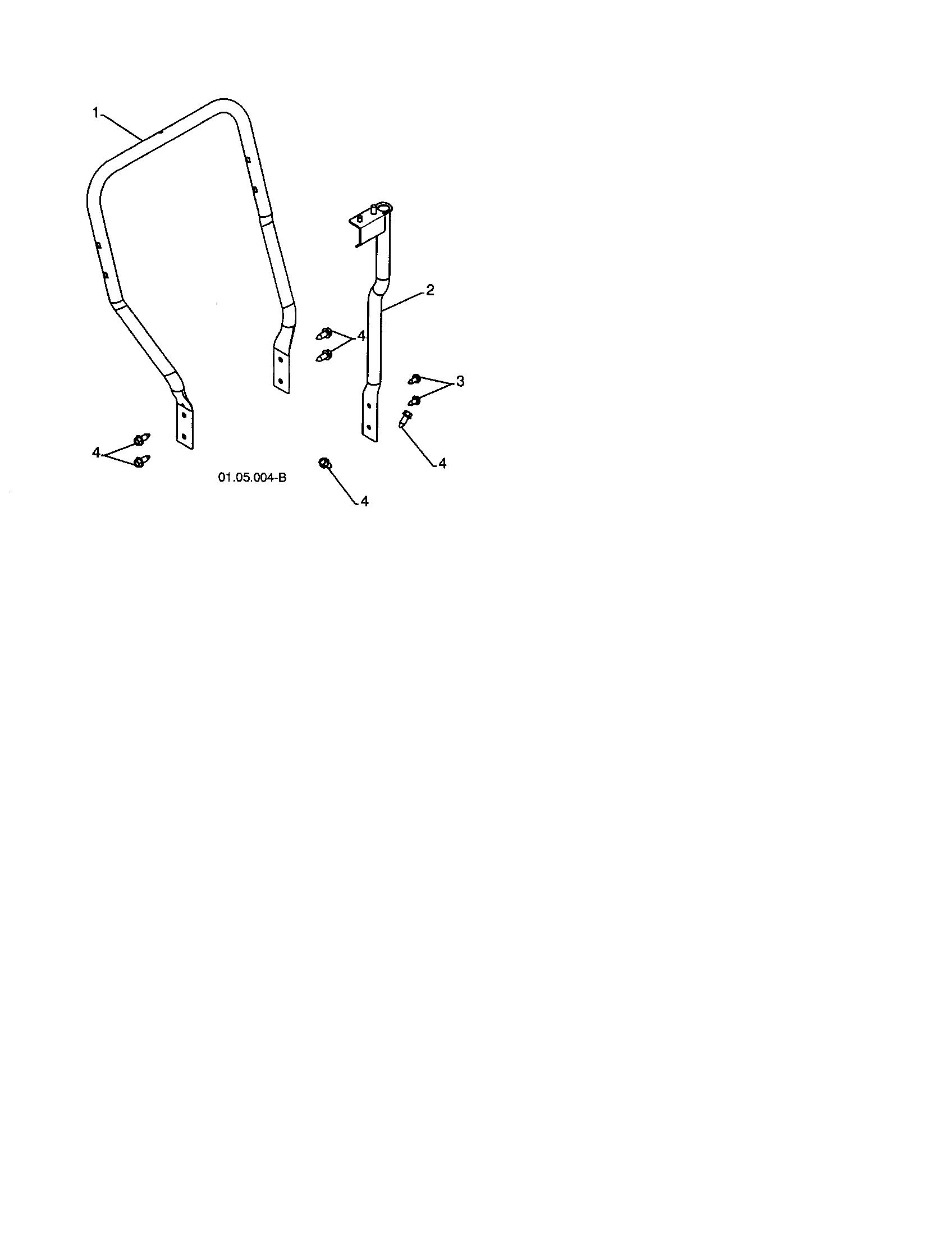Craftsman  Snow Thrower  Lower tube