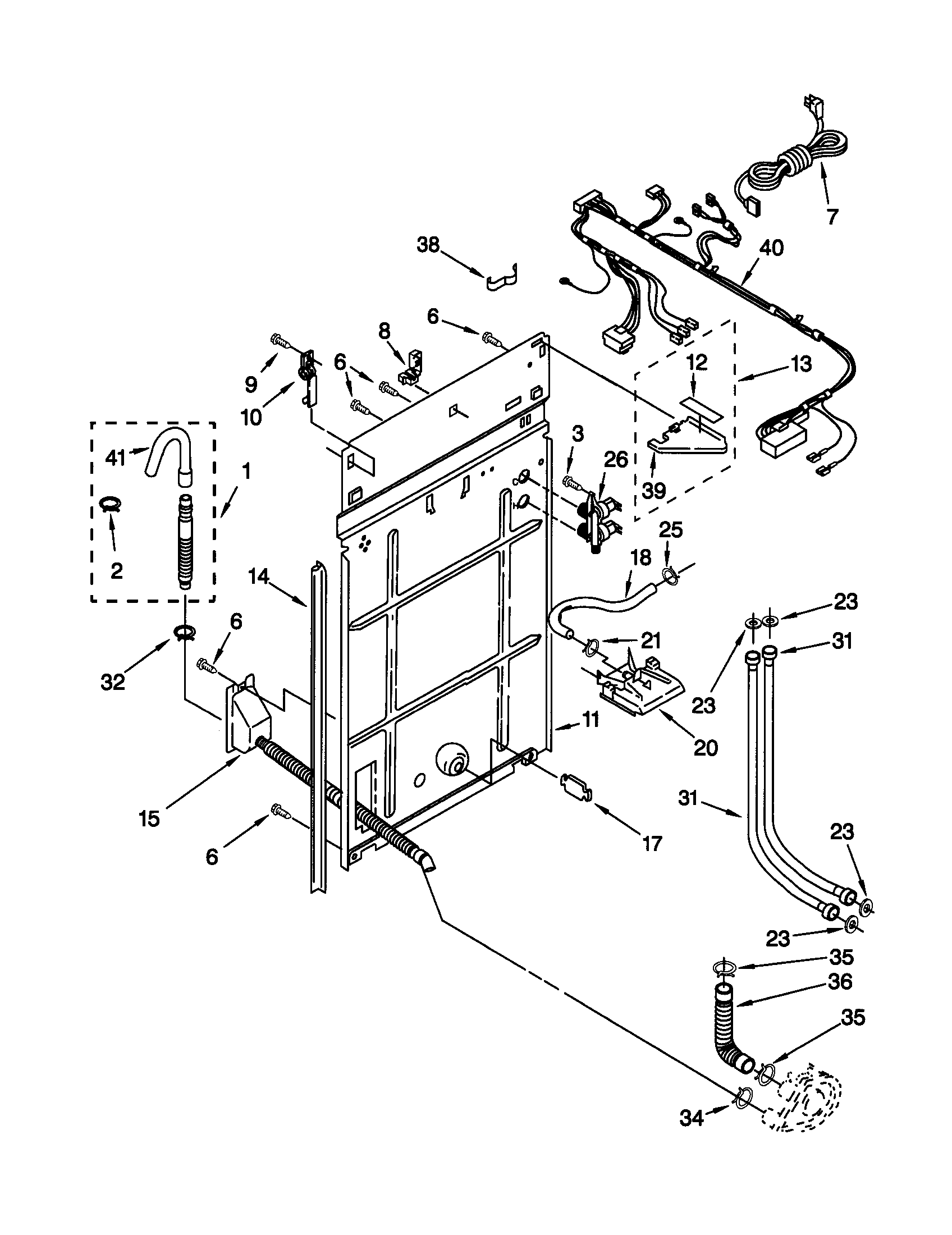 Kenmore Model 11029812890 Residential Washers Genuine Parts Diagram For The Upper Part Of Basket Drive System On A 80
