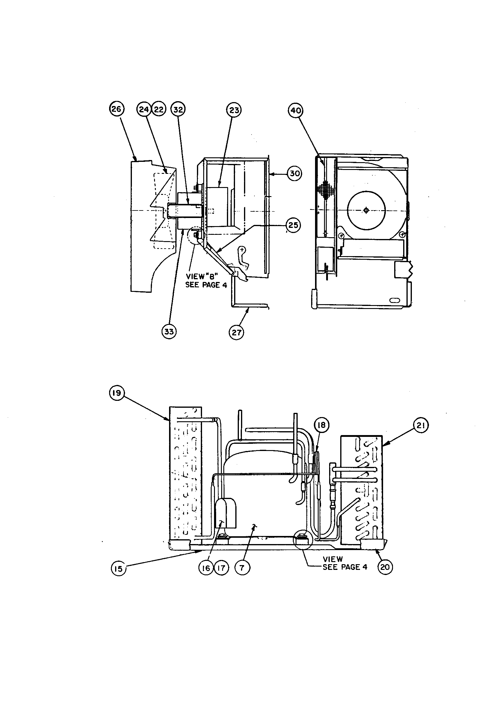 Carrier 51DZA009790 heater assembly & compressor diagram