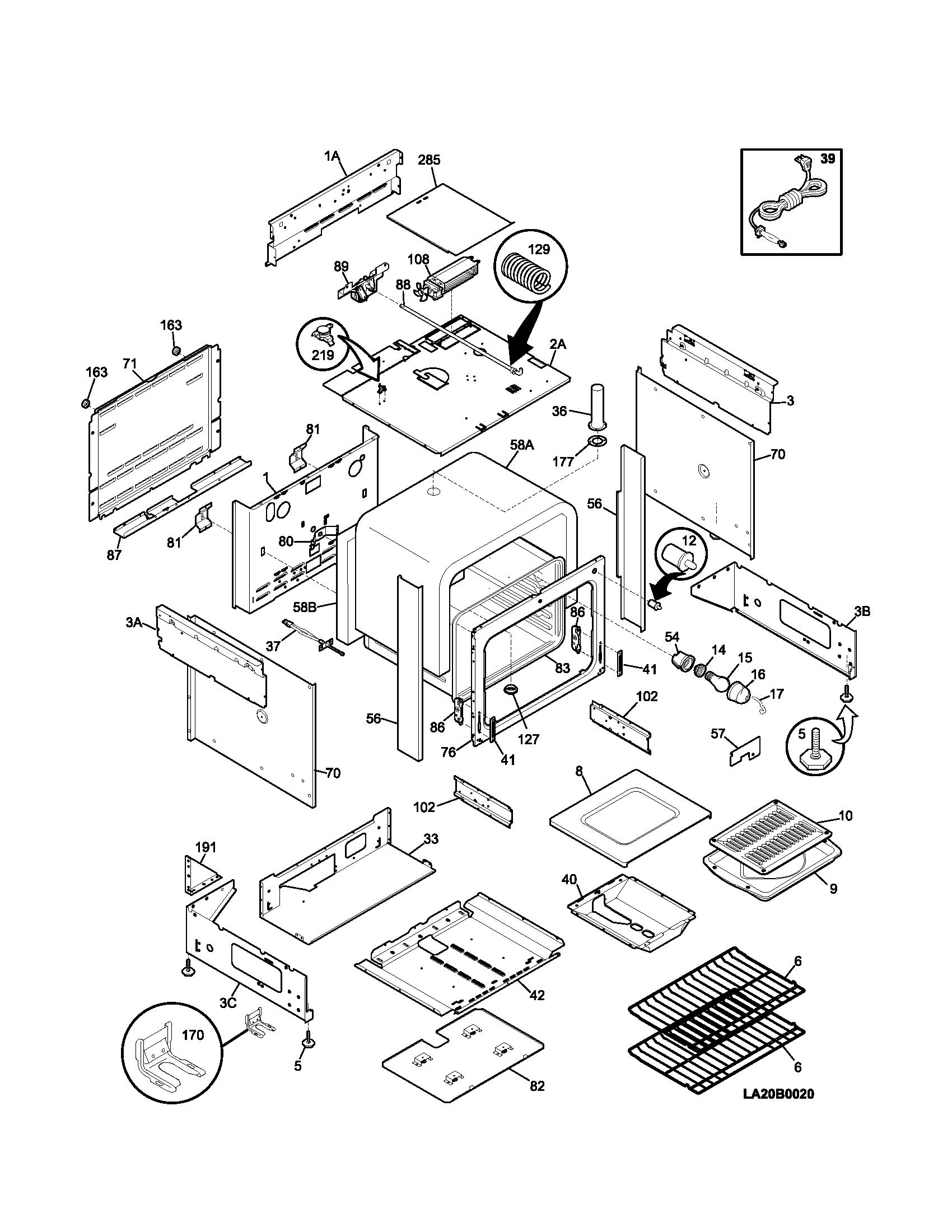 kenmore gas range burner parts