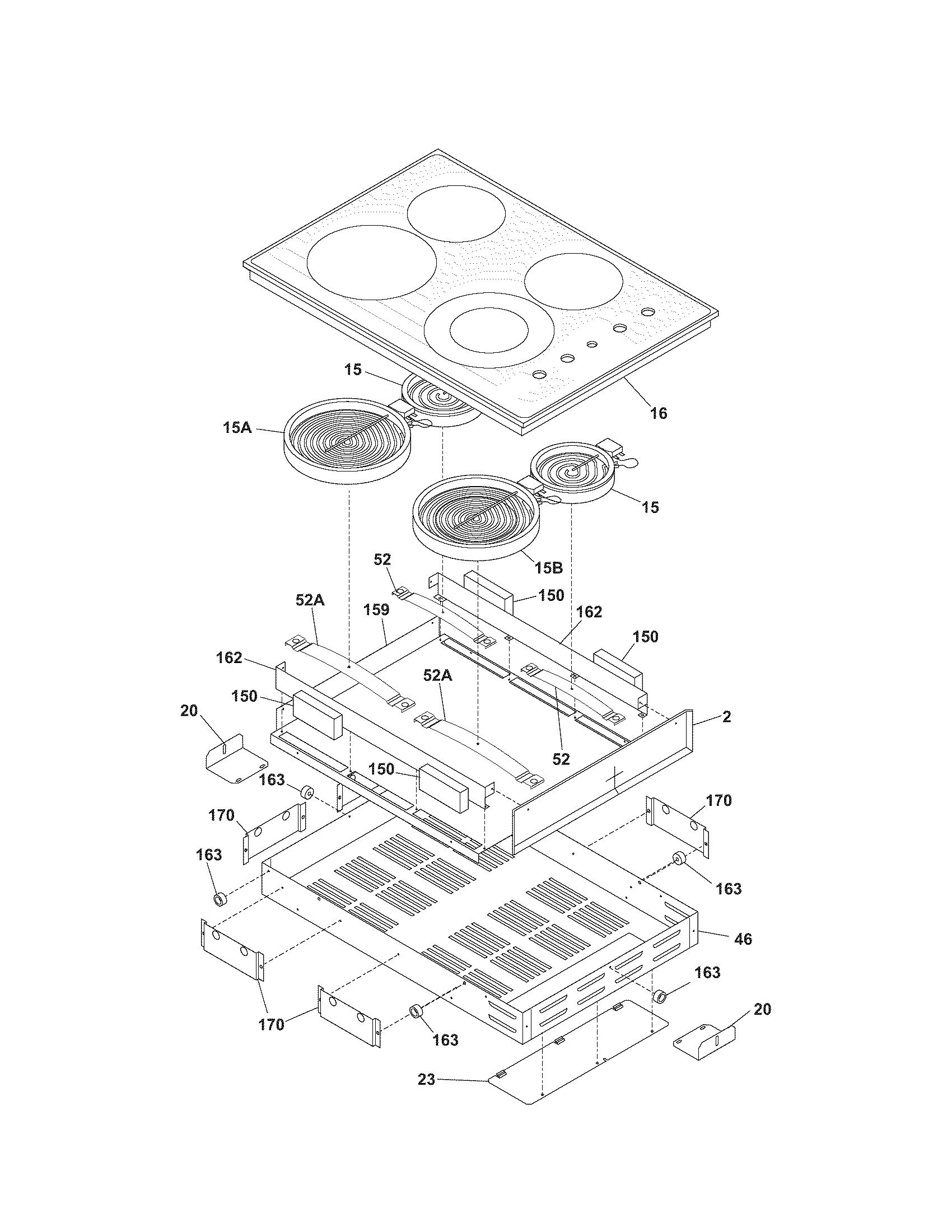 maintop diagram  u0026 parts list for model 79042739401 kenmore