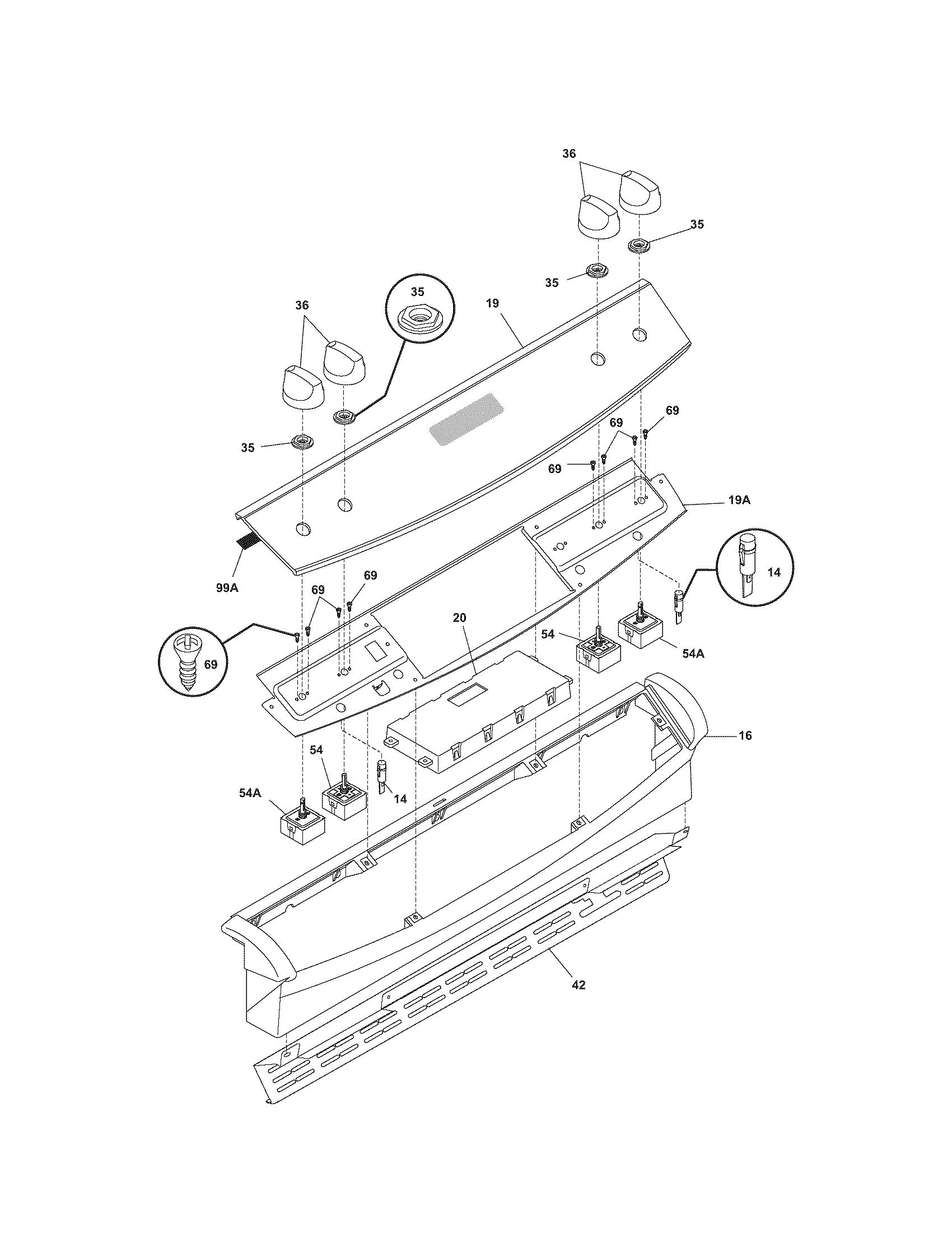 kenmore elite electric range parts