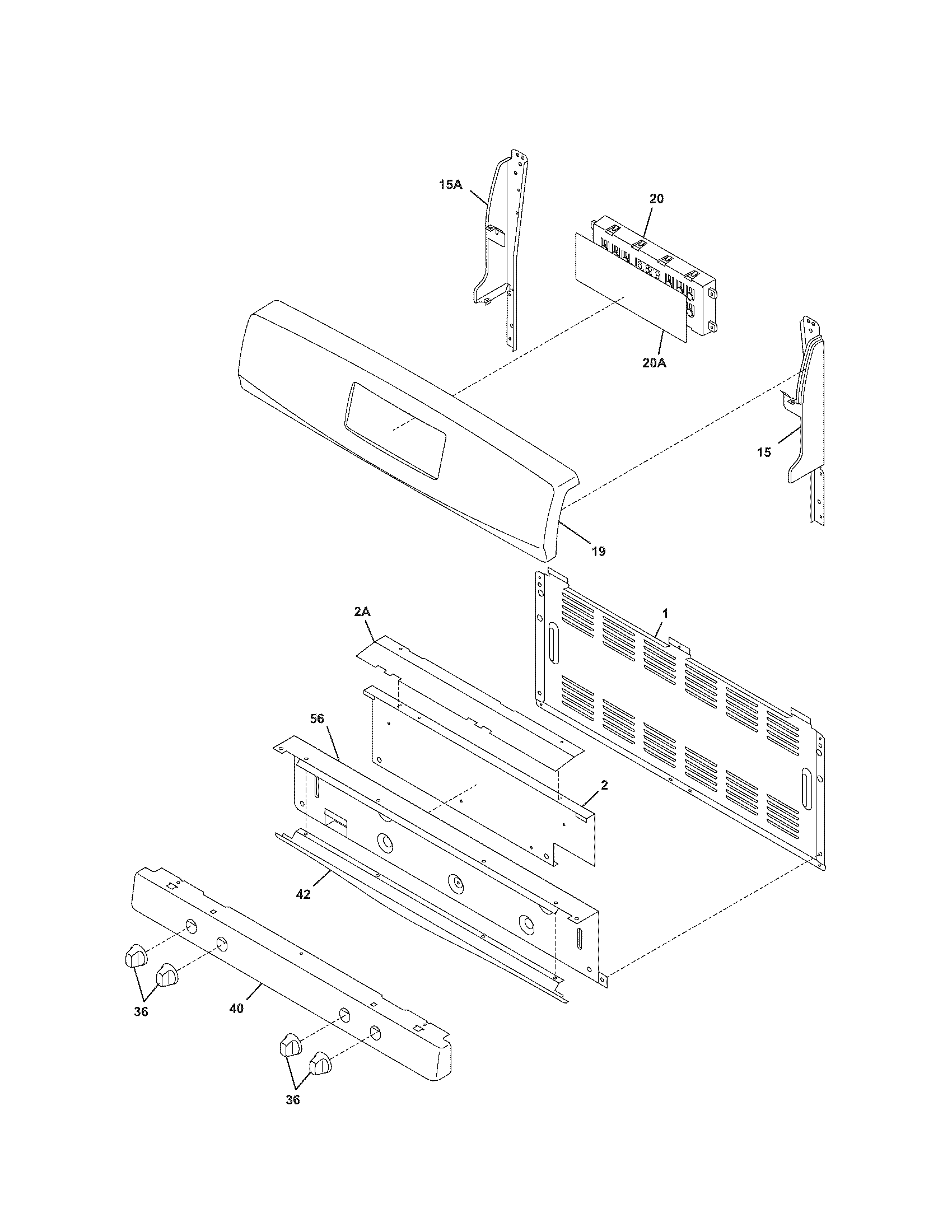 Kenmore 79078789404 backguard diagram