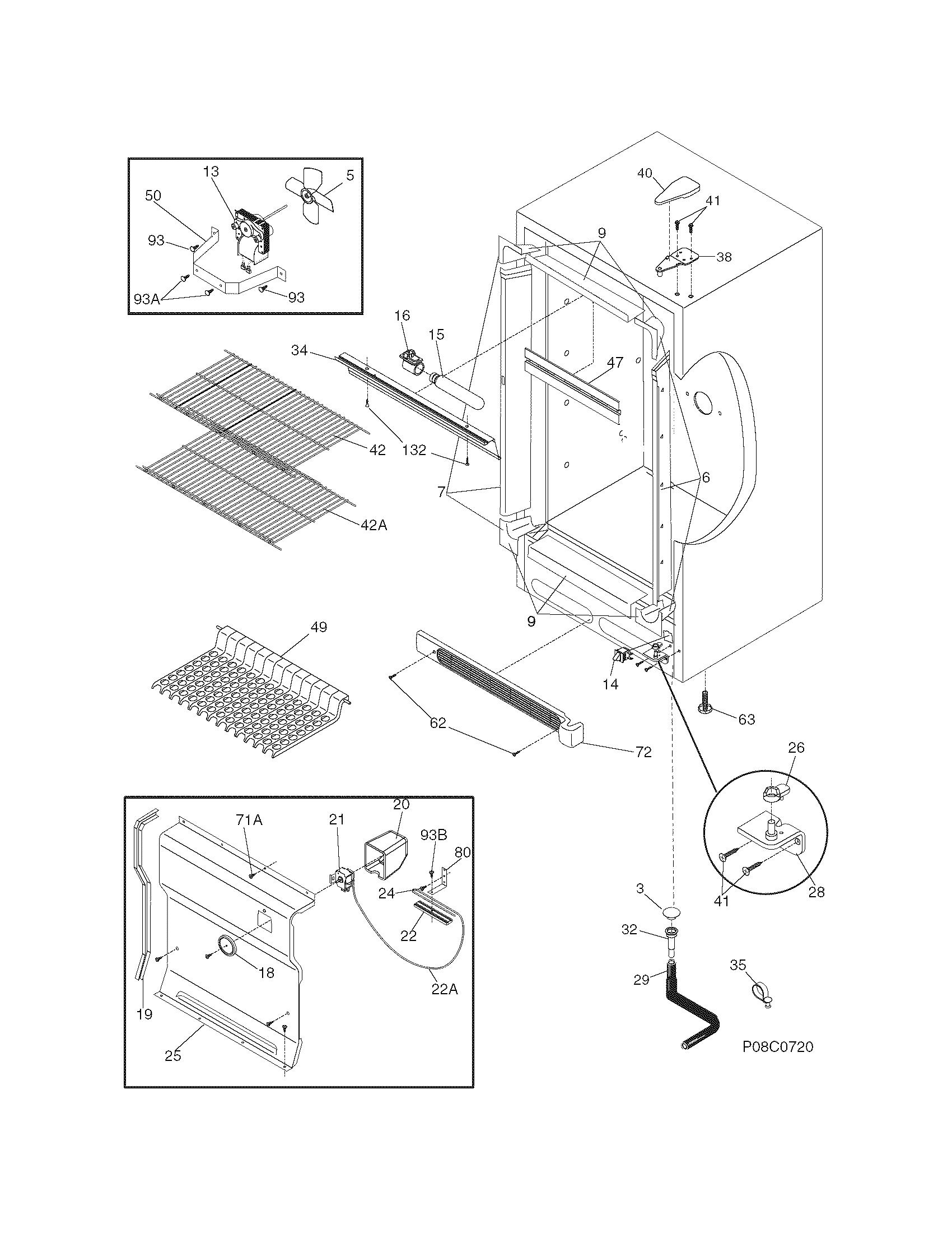 White-Westinghouse  Freezer  Cabinet