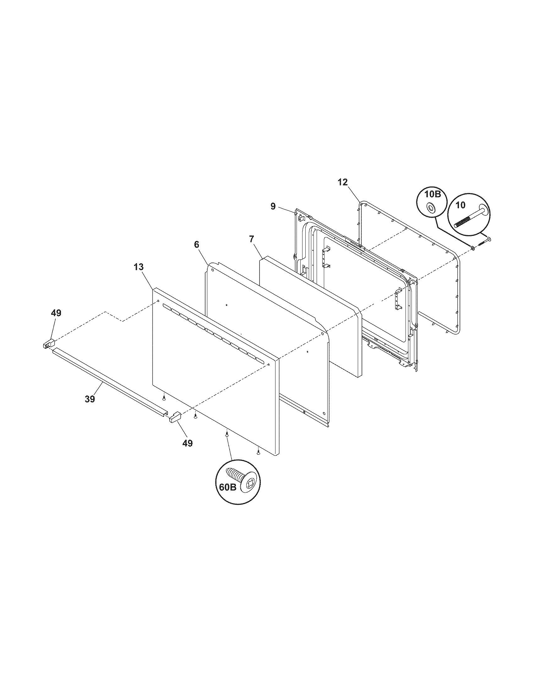 Tappan  Range   Parts