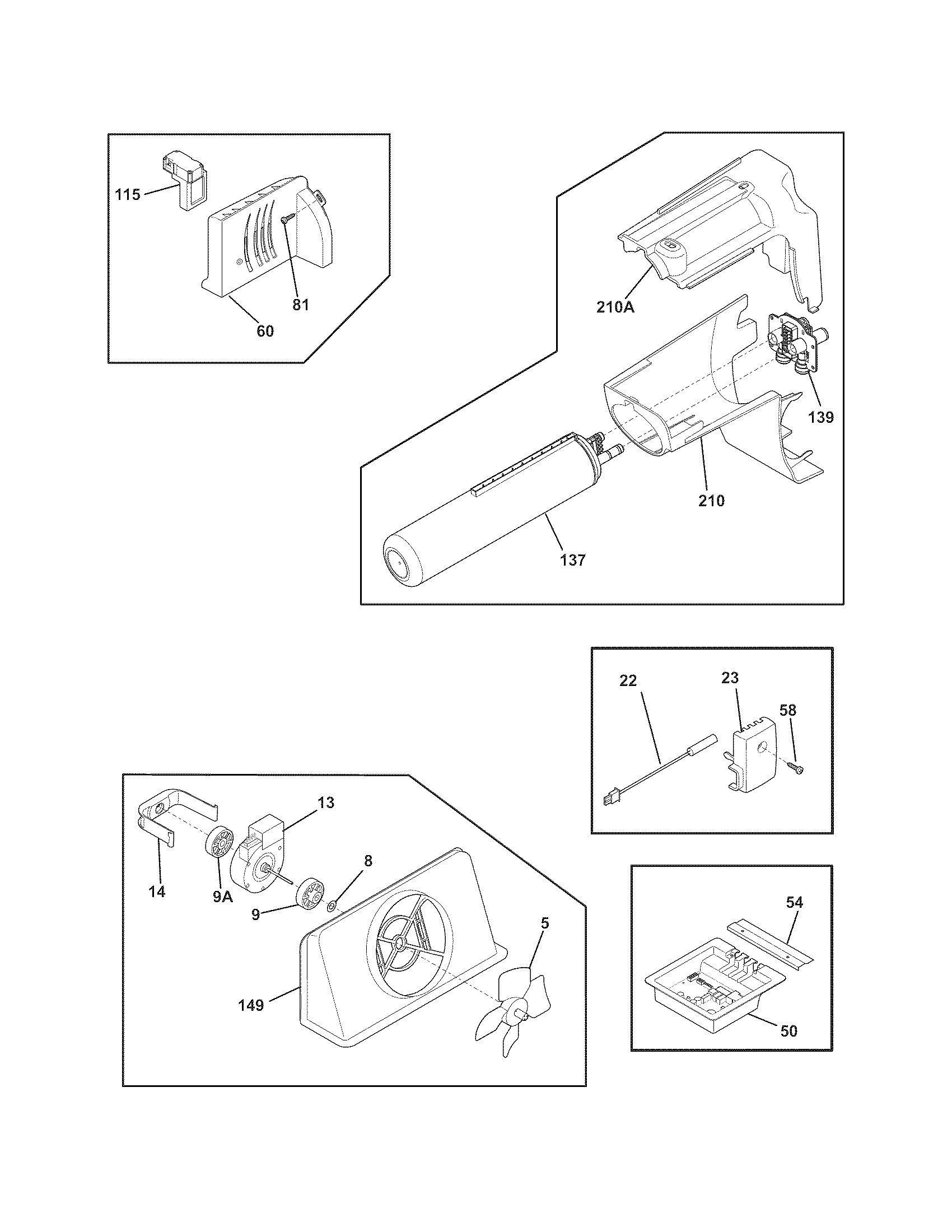 Frigidaire DGHS2644KF3 controls diagram