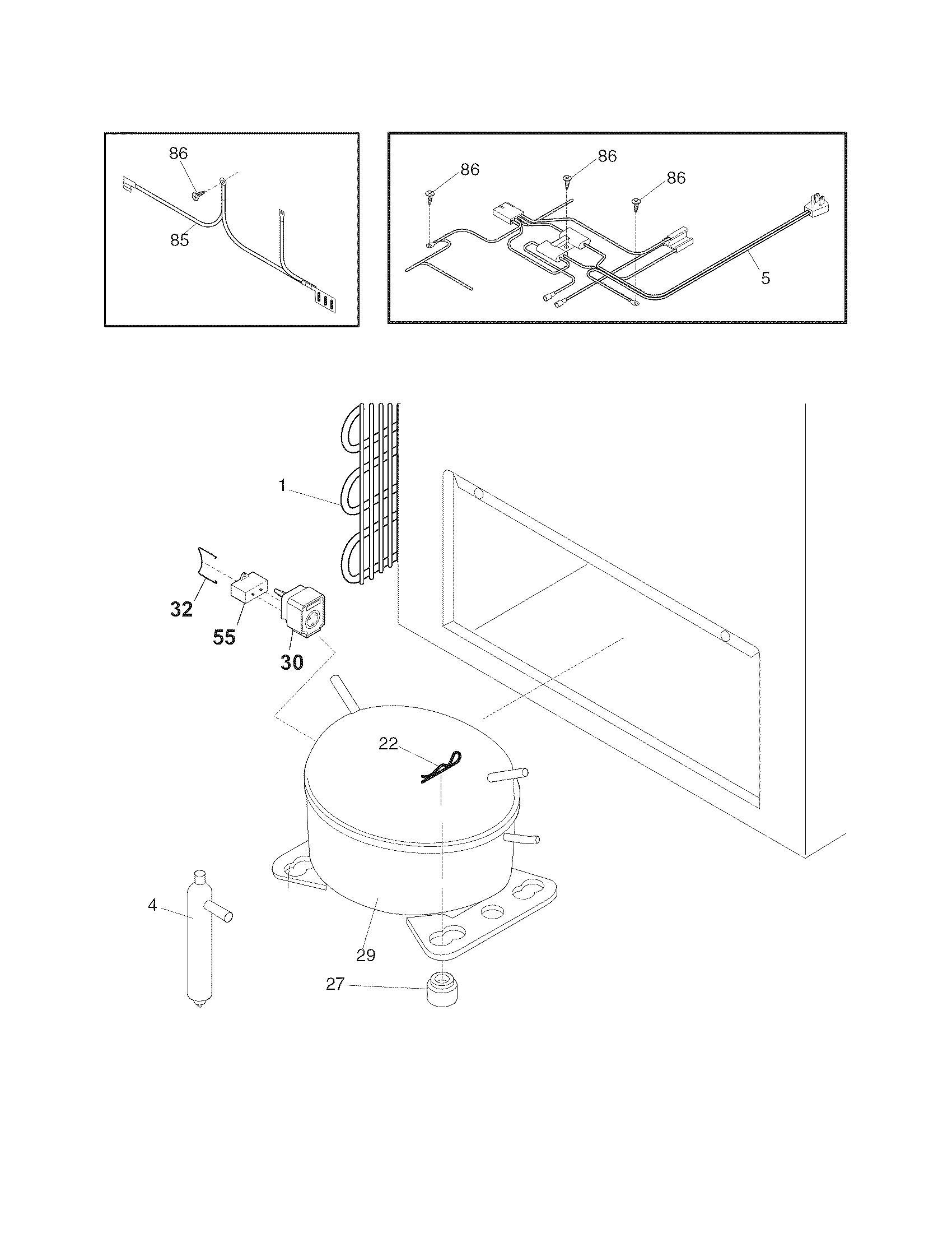 White-Westinghouse  Freezer  System