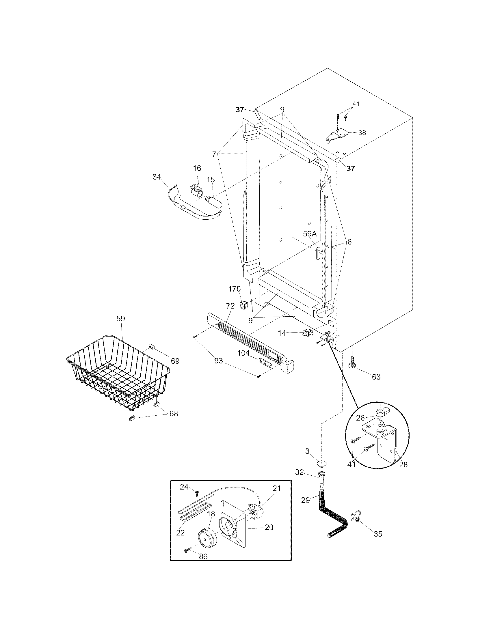 Kelvinator  Freezer  Cabinet