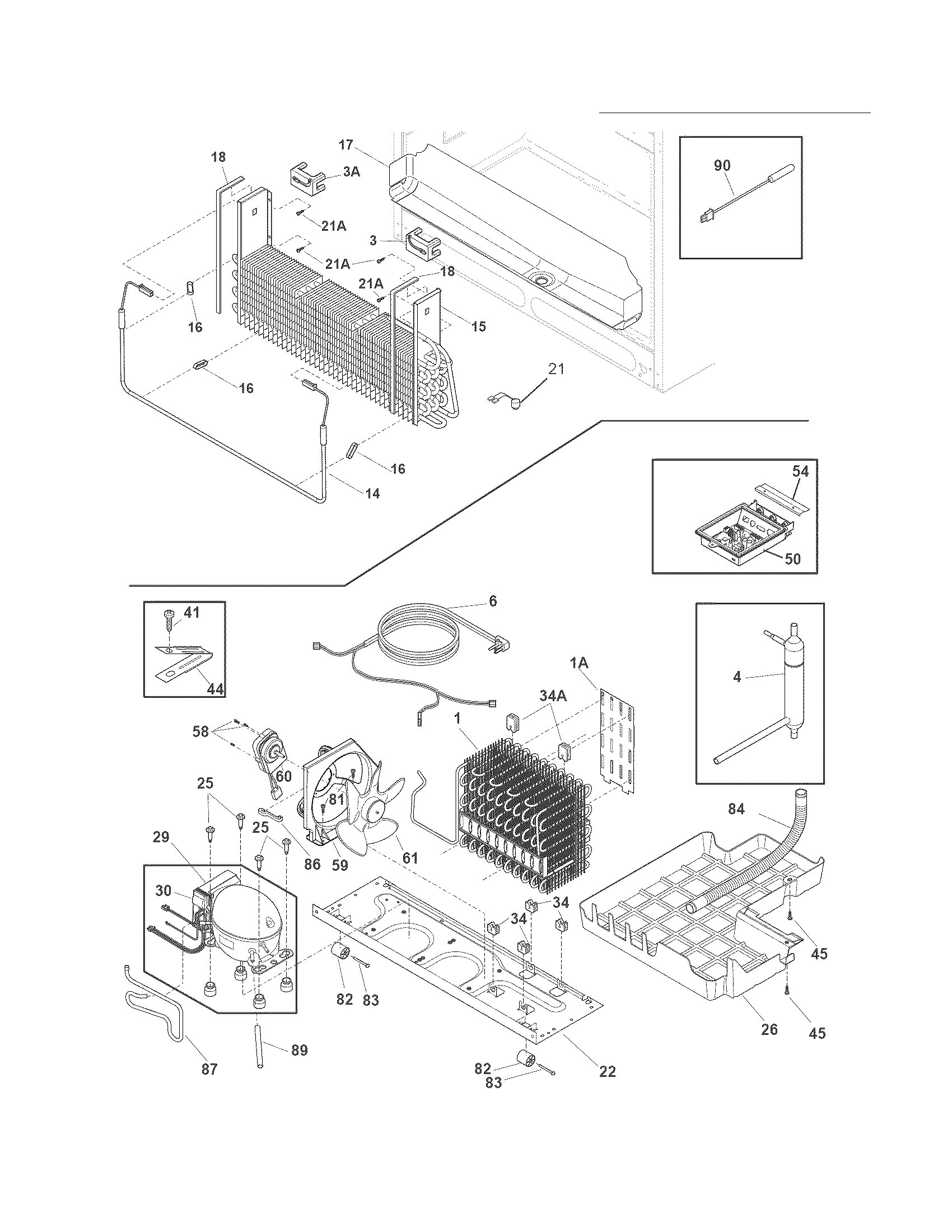 Crosley  Refrigerator  System