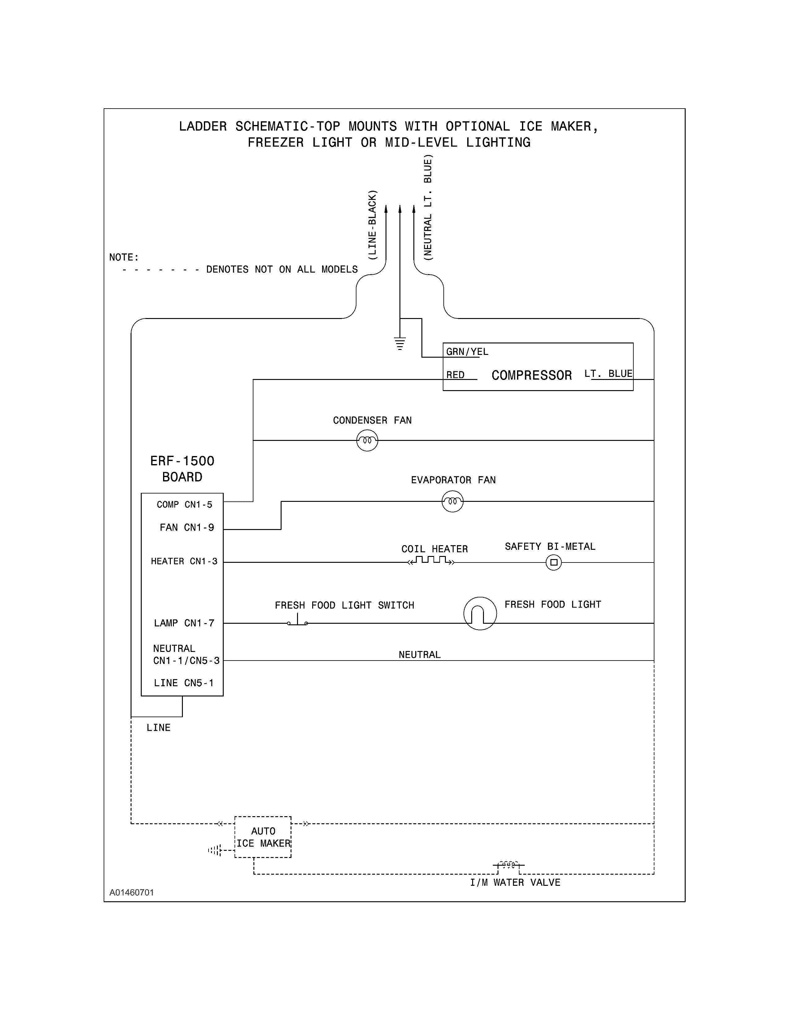 Frigidaire Ice Maker Wiring Diagram from c.searspartsdirect.com