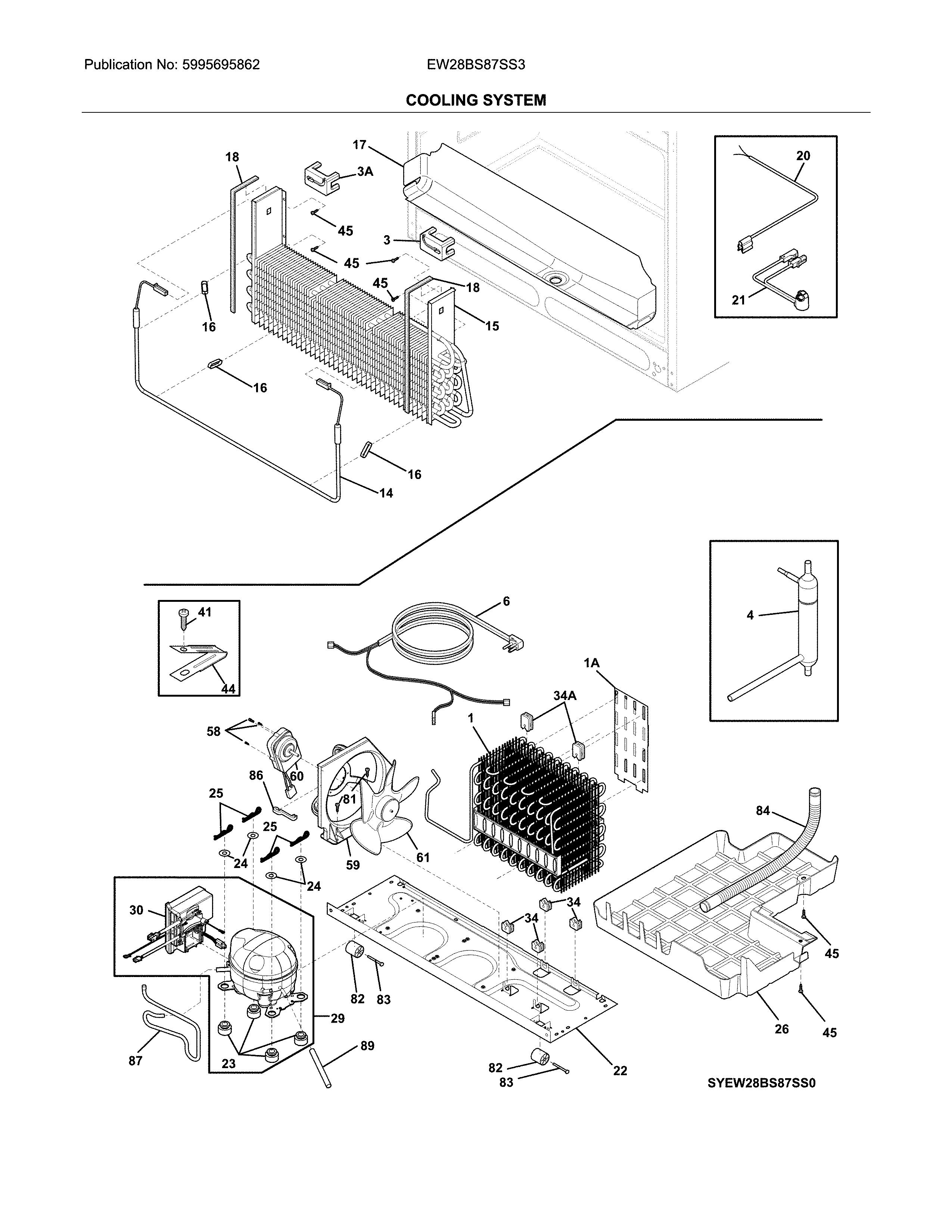 Electrolux  Refrigerator  System