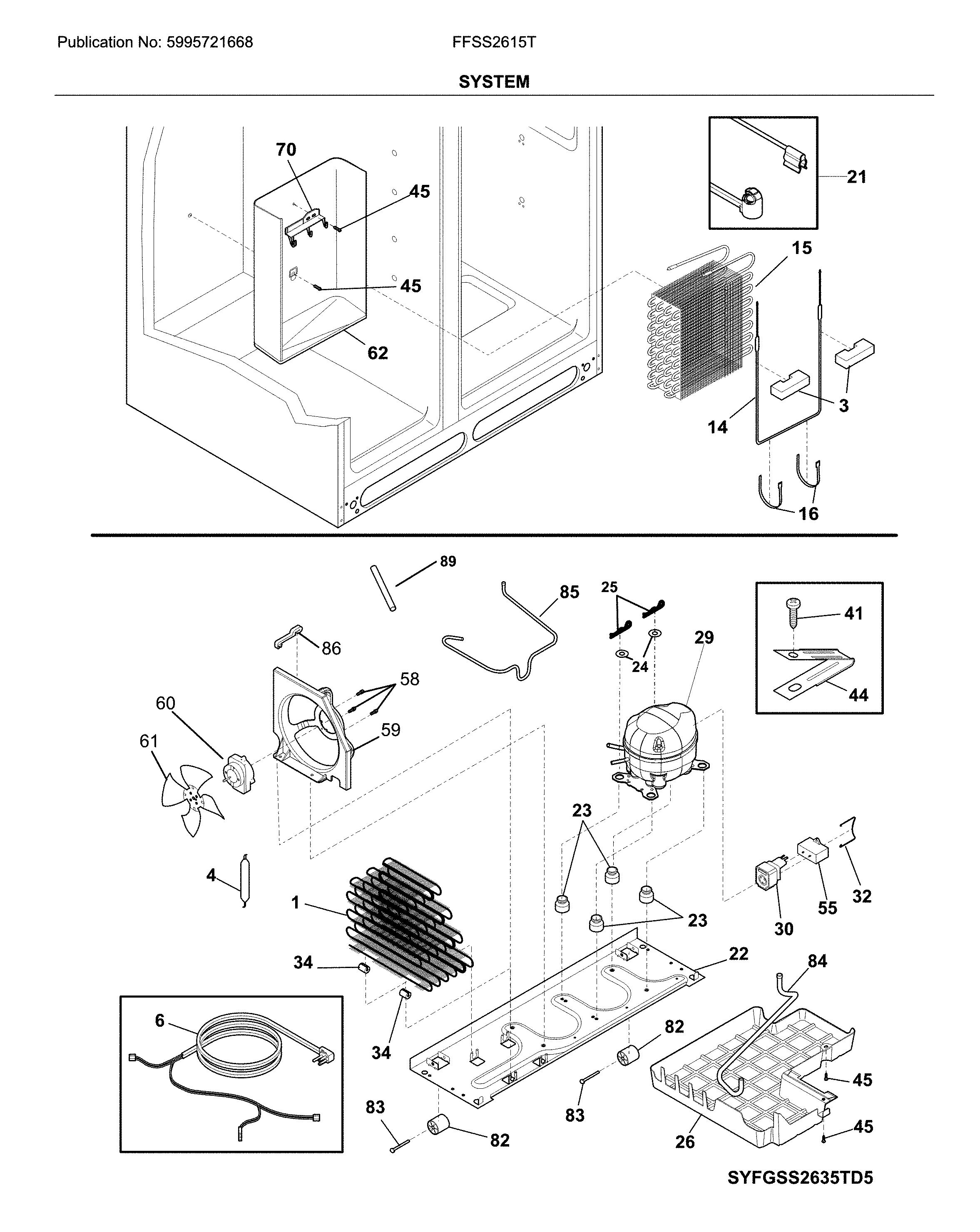 Frigidaire  Refrigerator  System