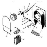 Thermador CVSE36B cv2336 remote ventilator diagram