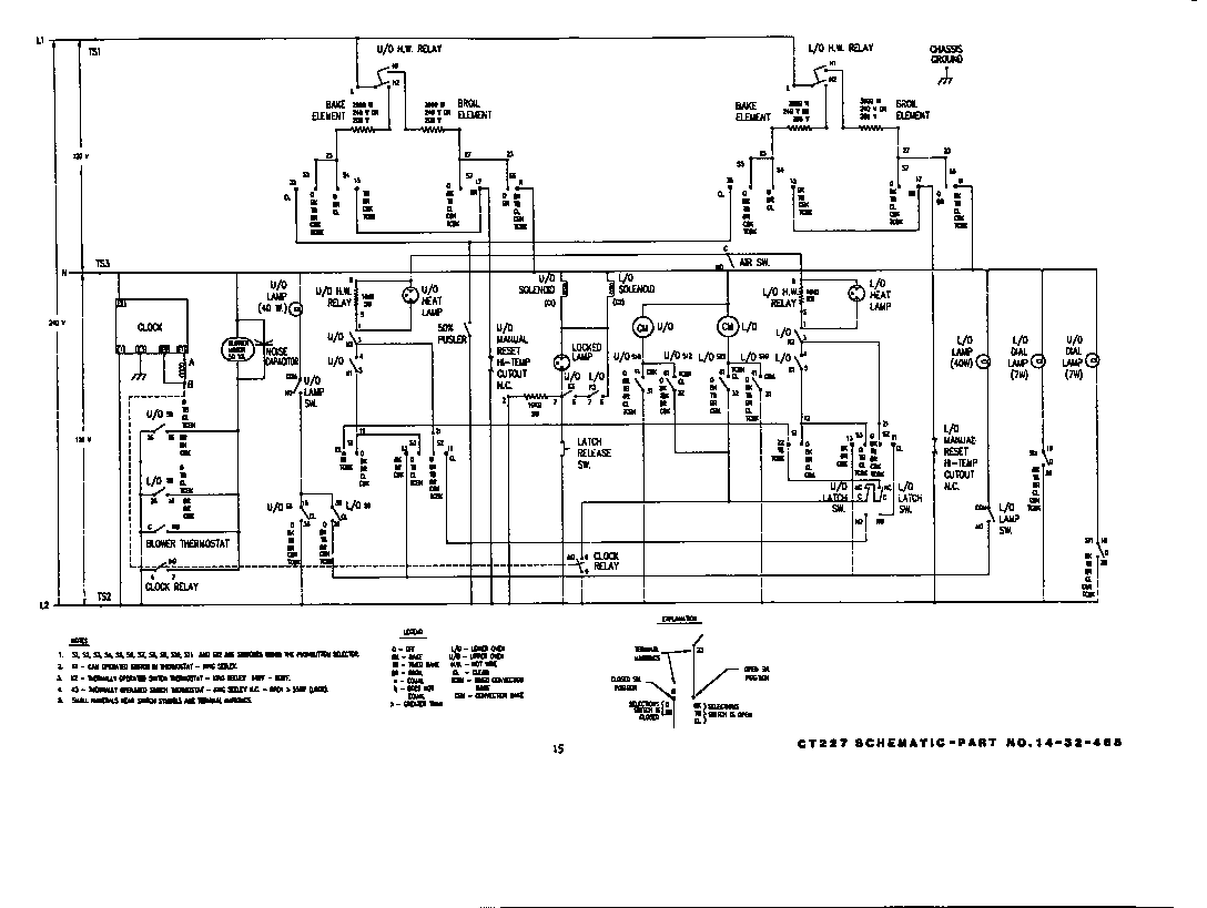 Thermador Model Ct227 Built In Oven Electric Genuine Parts Control Panel Diagram And List For Wallovenparts