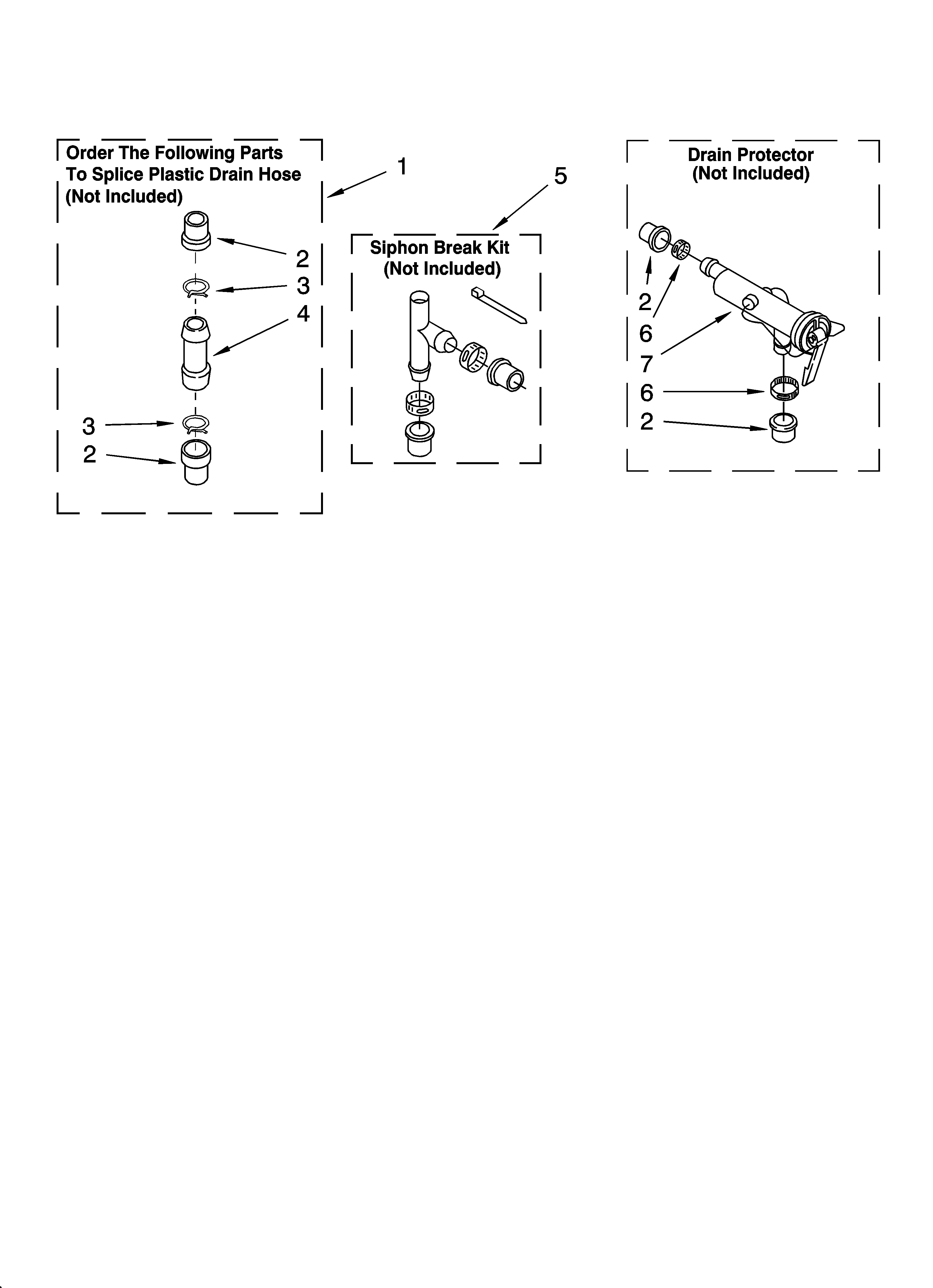 Whirlpool LSN1000LW3 water system parts diagram