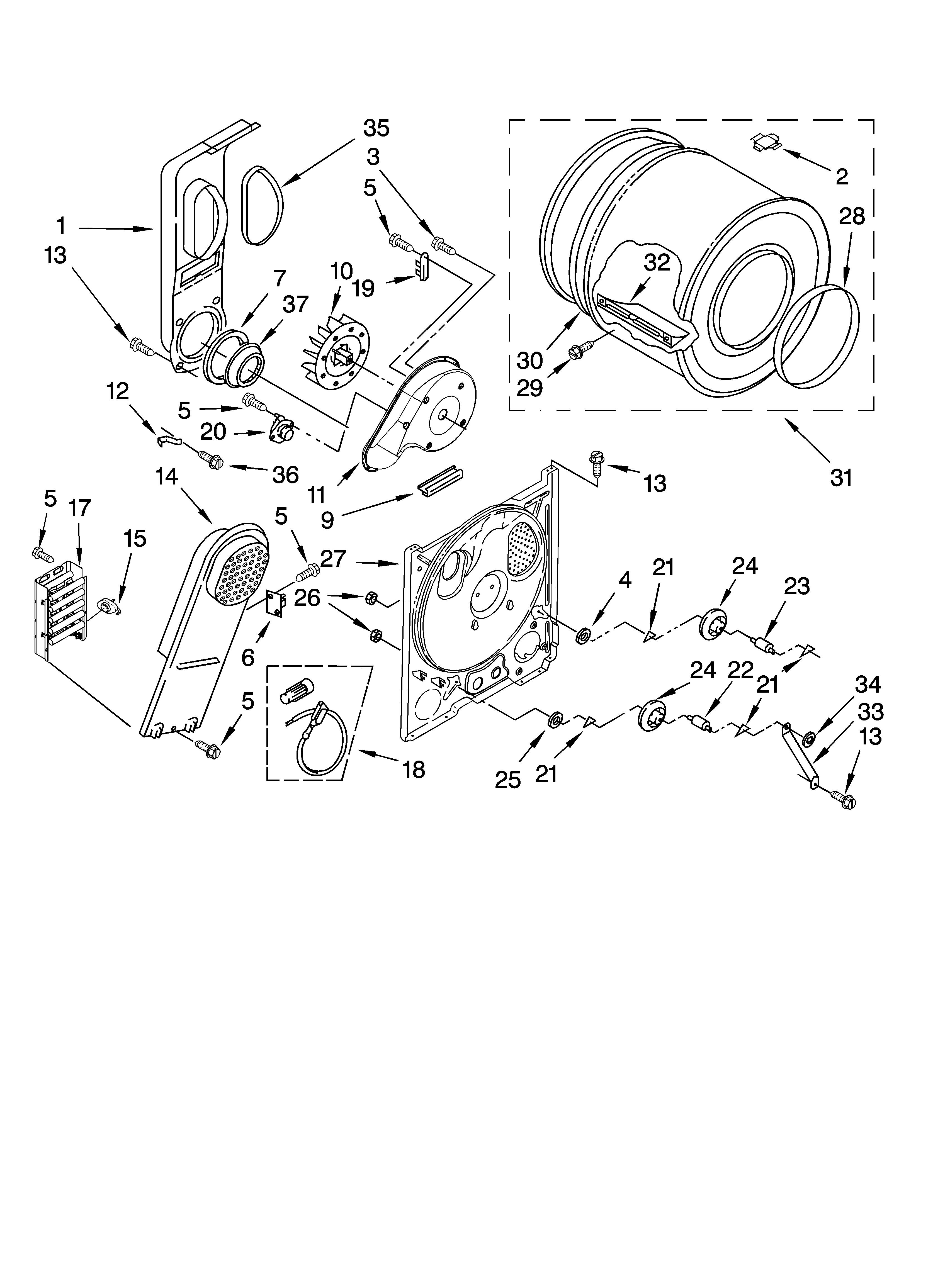 bulkhead parts  optional parts  not included  diagram